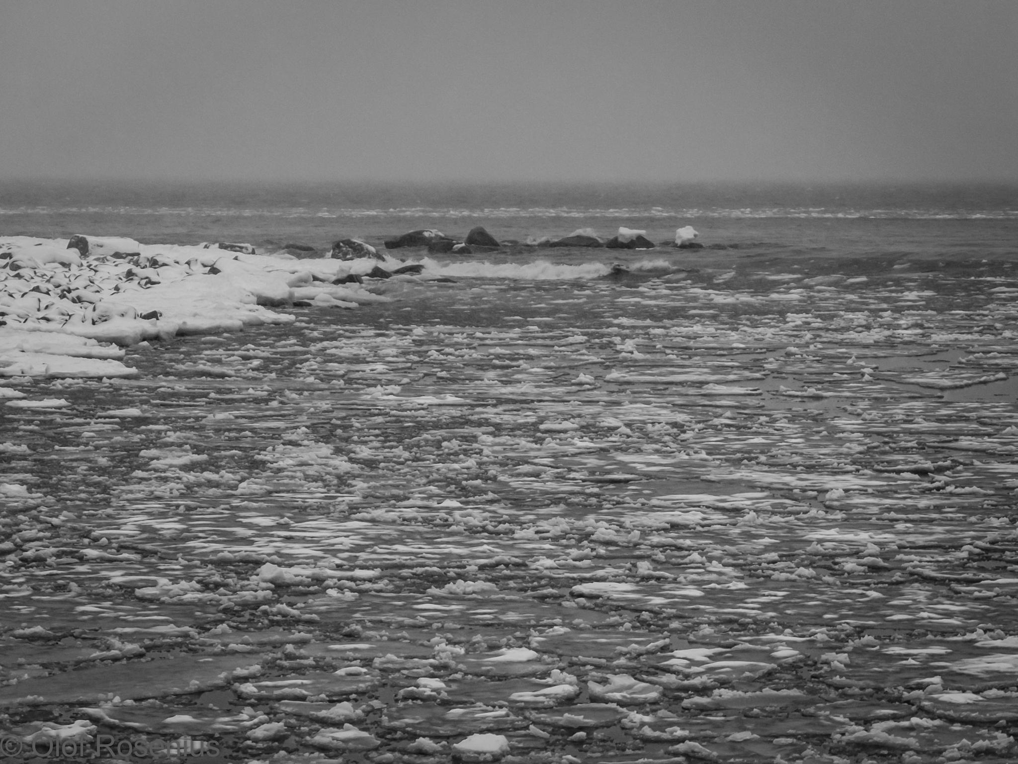 Frozen sea by olof.rosenius