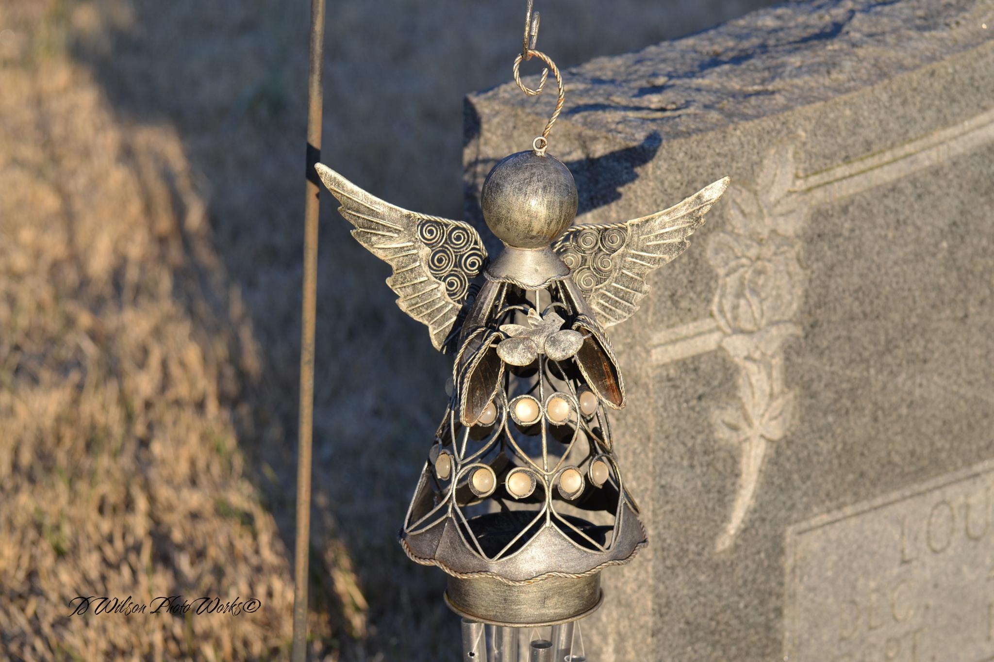 Angel Windchime by Debbie Wilson
