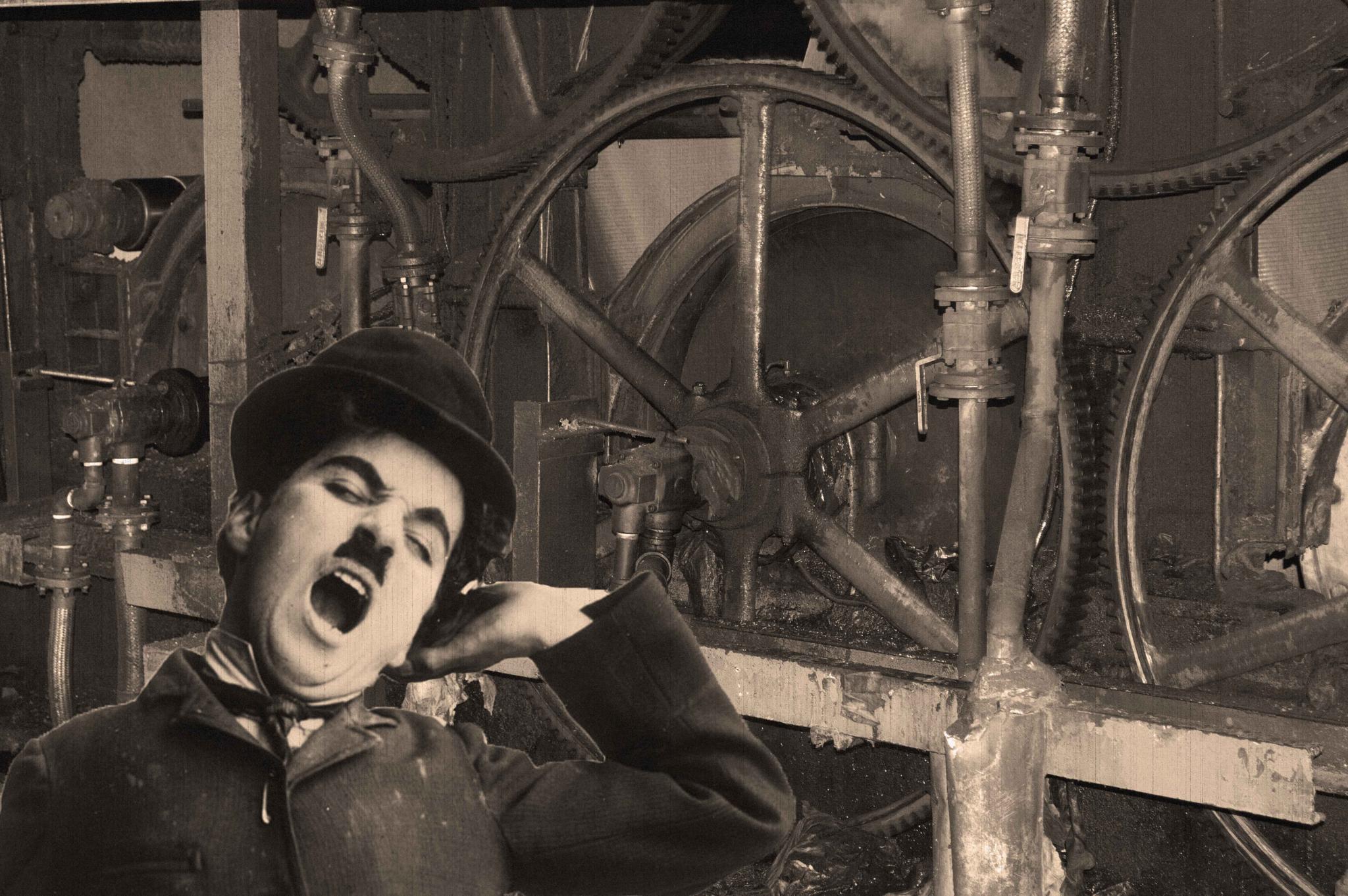 Photo in Industrial #machines #chaplin #maquinaria #industria