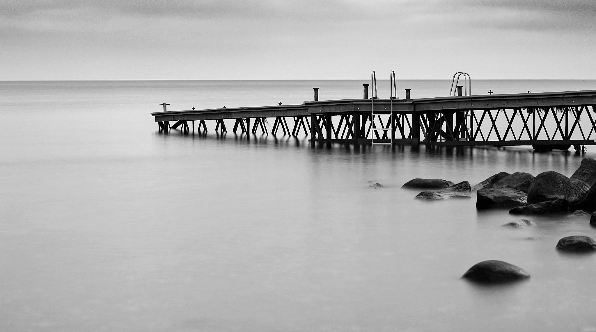 The jetty by Dorte Hedengran
