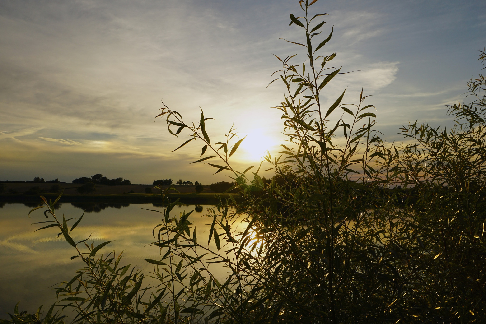 Before sunset by Dorte Hedengran