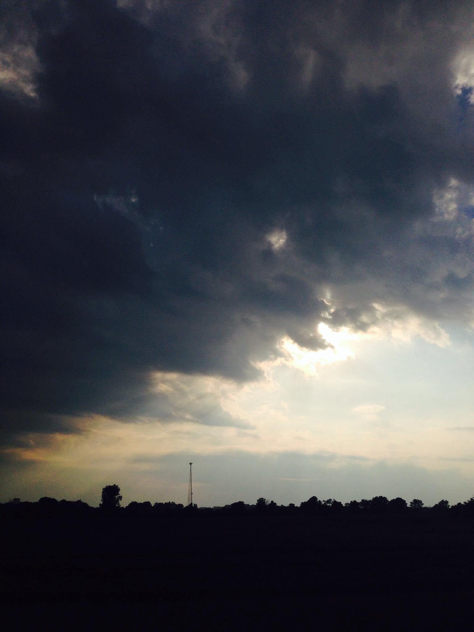 A divided sky! by JoyH