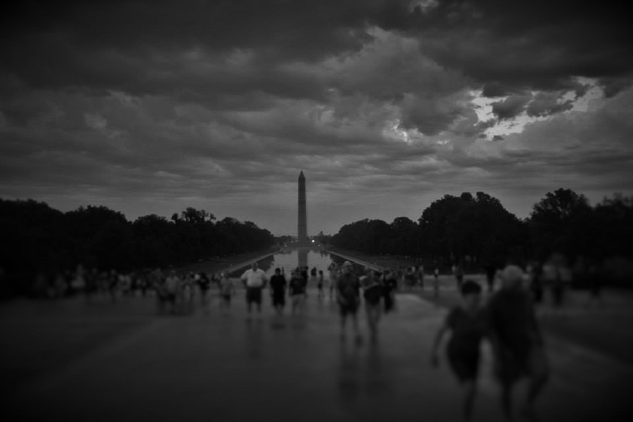 Clouds Over washington D.C. by brant.stevenson