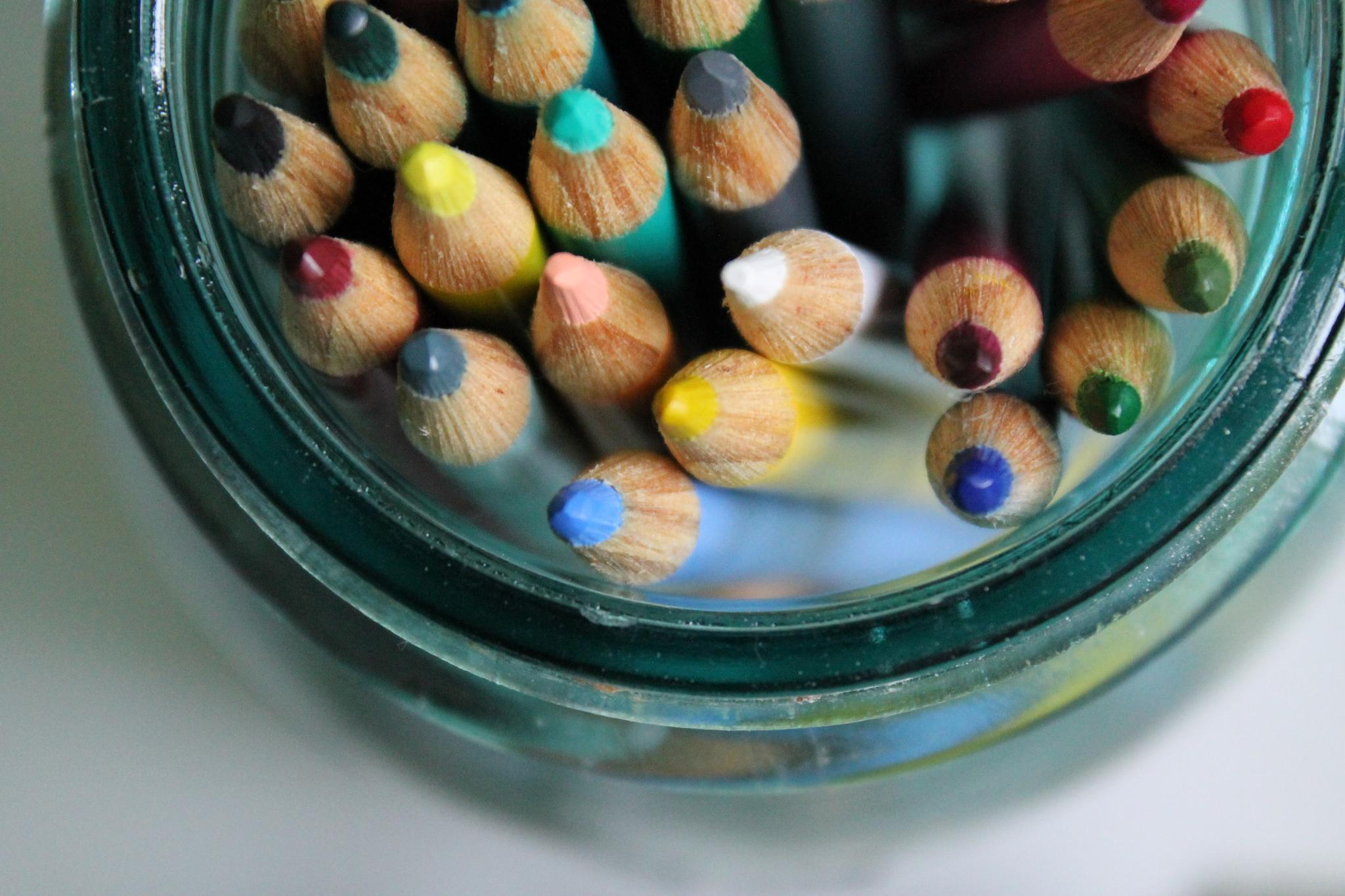 Colored Pencils by kelruhl
