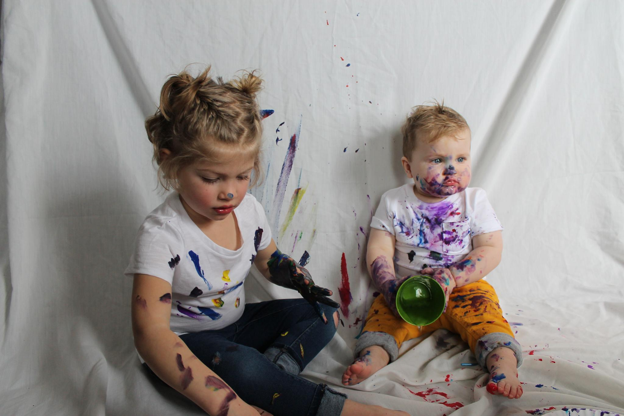 Never too Young to Paint by kelruhl