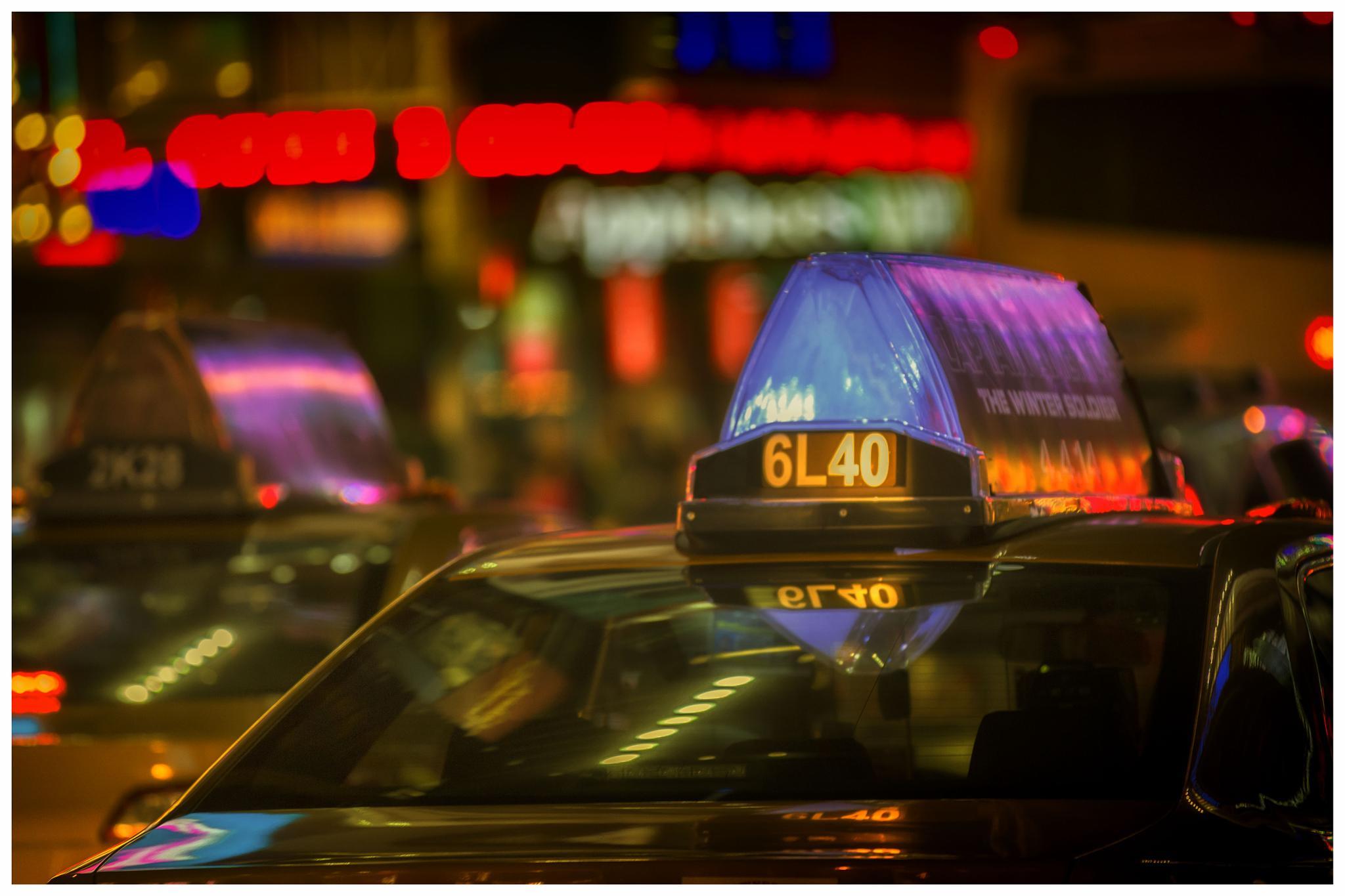 NYC Cab by Jason Tippins