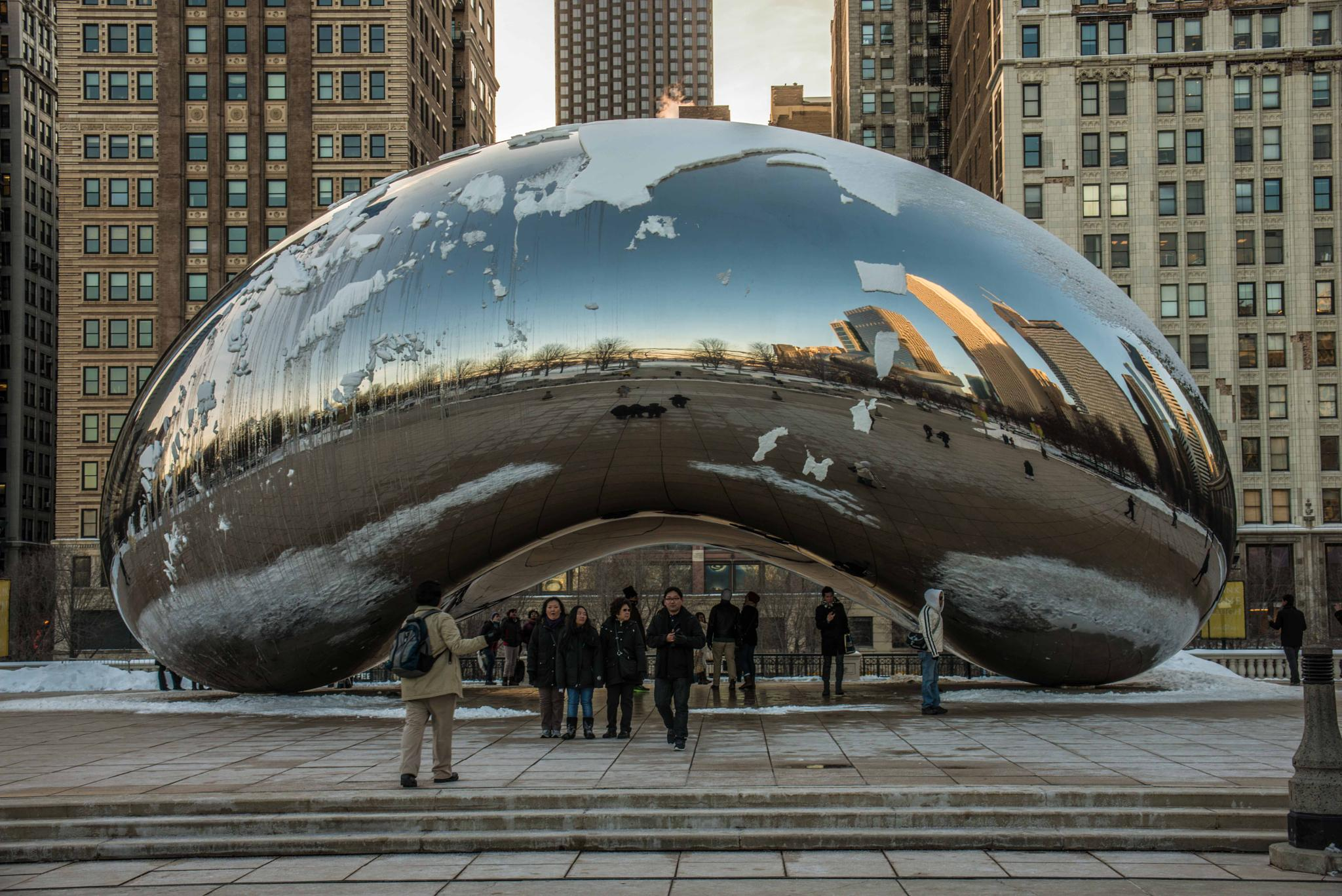 Cloud Gate a.ka. The Bean by ramesh thyagarajan