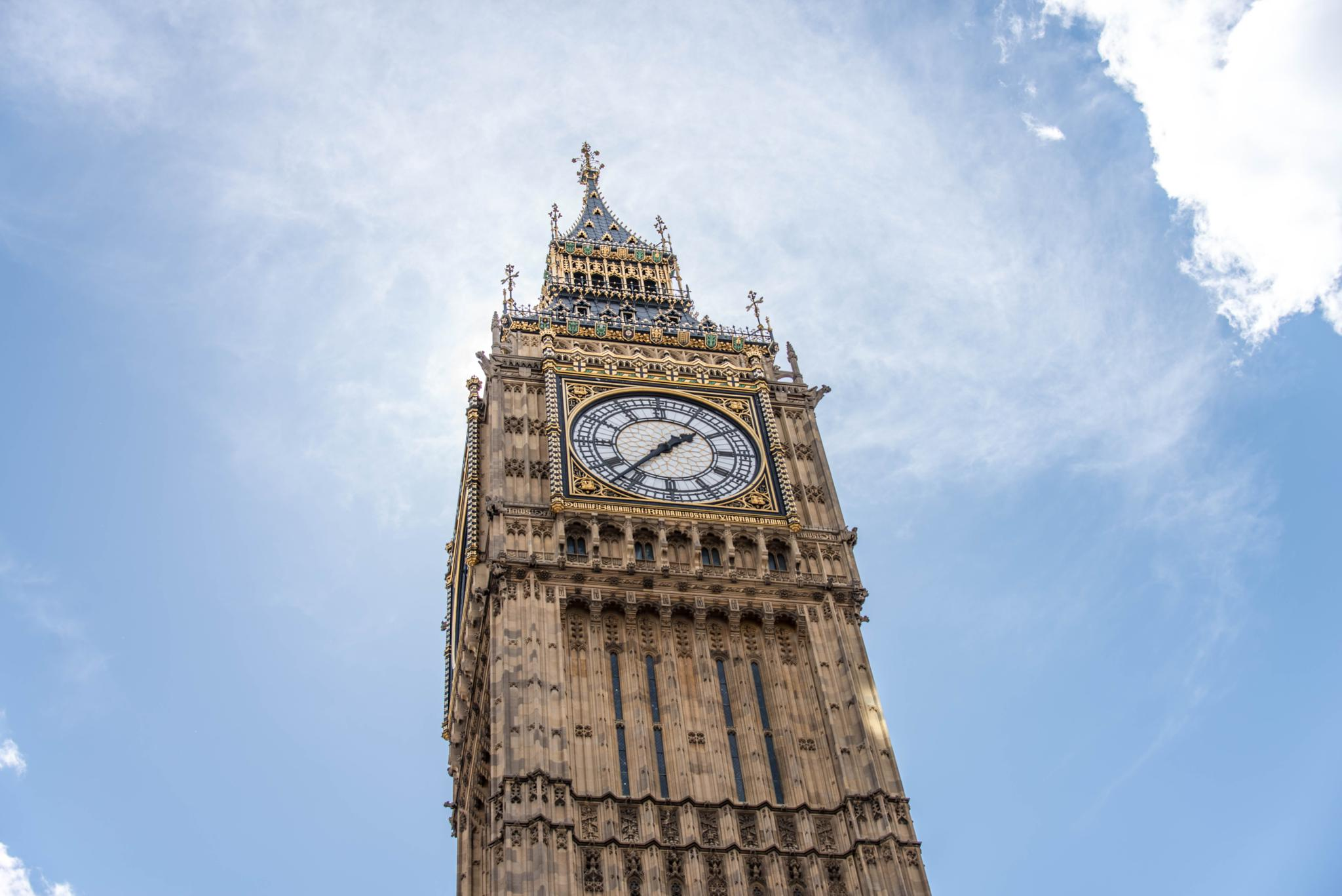 Photo in Travel #big ben #westminister #london #clock tower