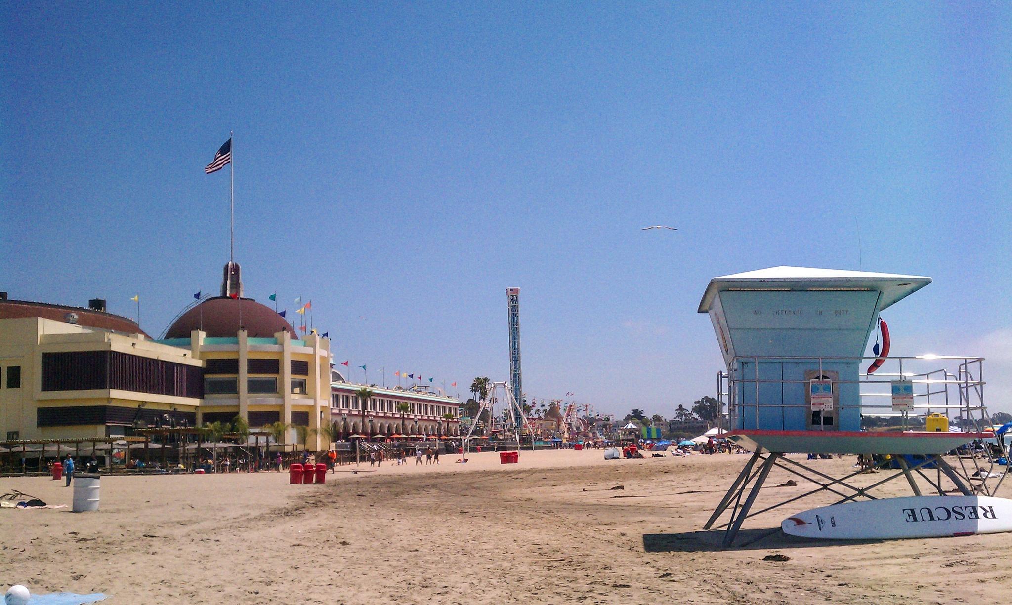 Photo in Landscape #santa cruz #santa cruz beach boardwalk #ca #california #beach