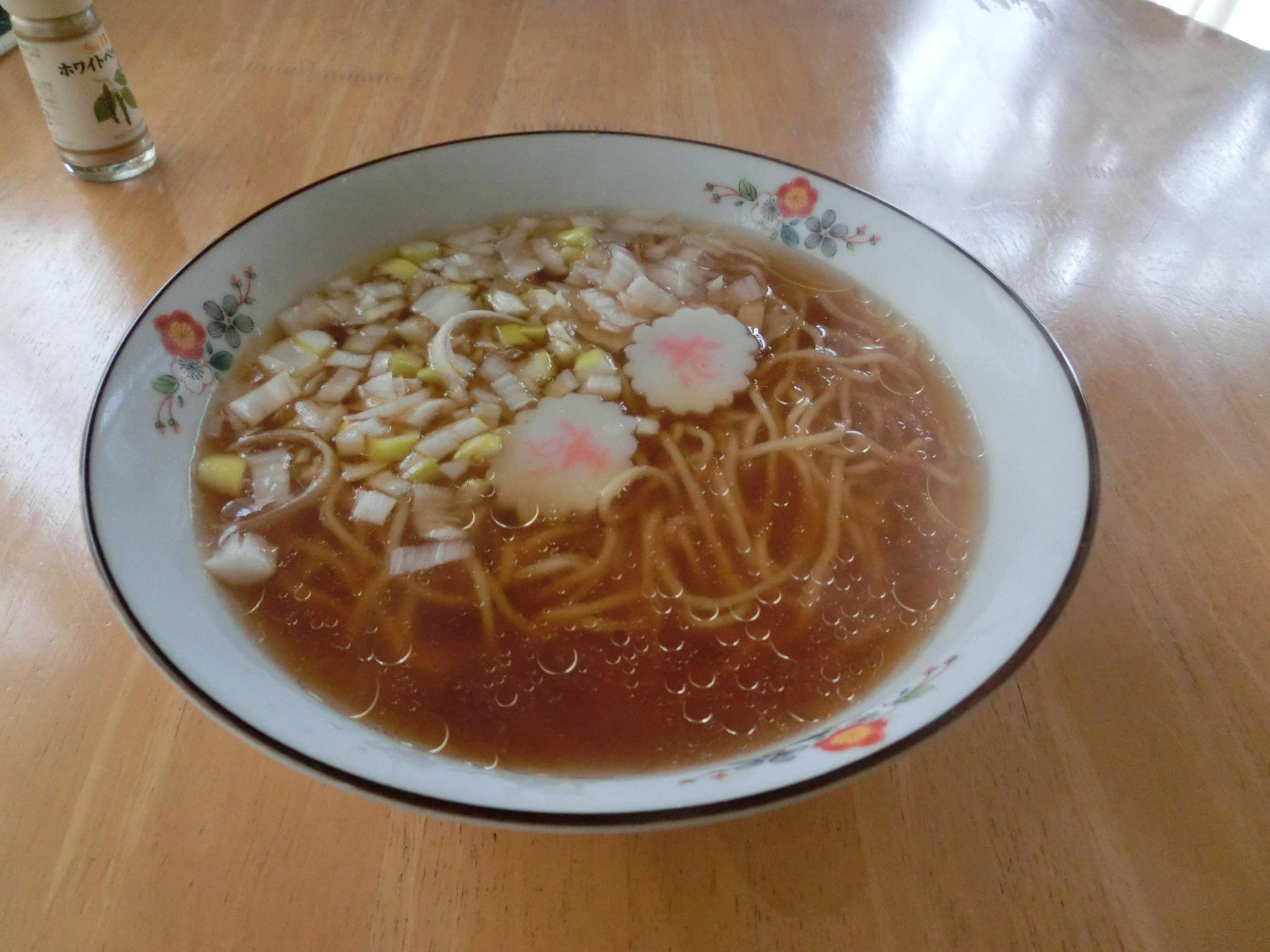 Japanese ramen house made lunch by Hiroshi Fukushima