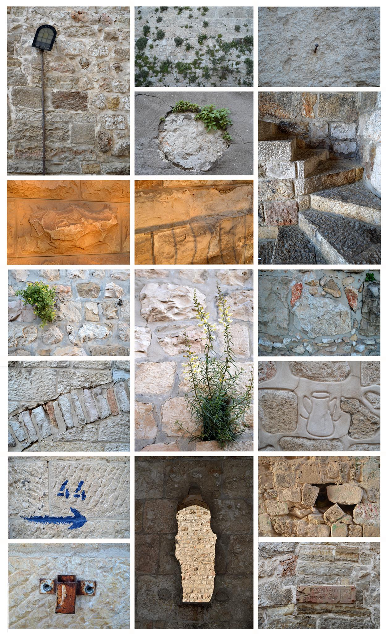 Walls in Jerusalem by Rebecca Tourniaire