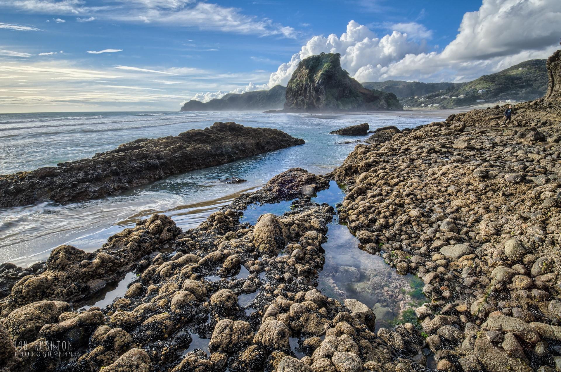 On the rocks by Ian Rushton