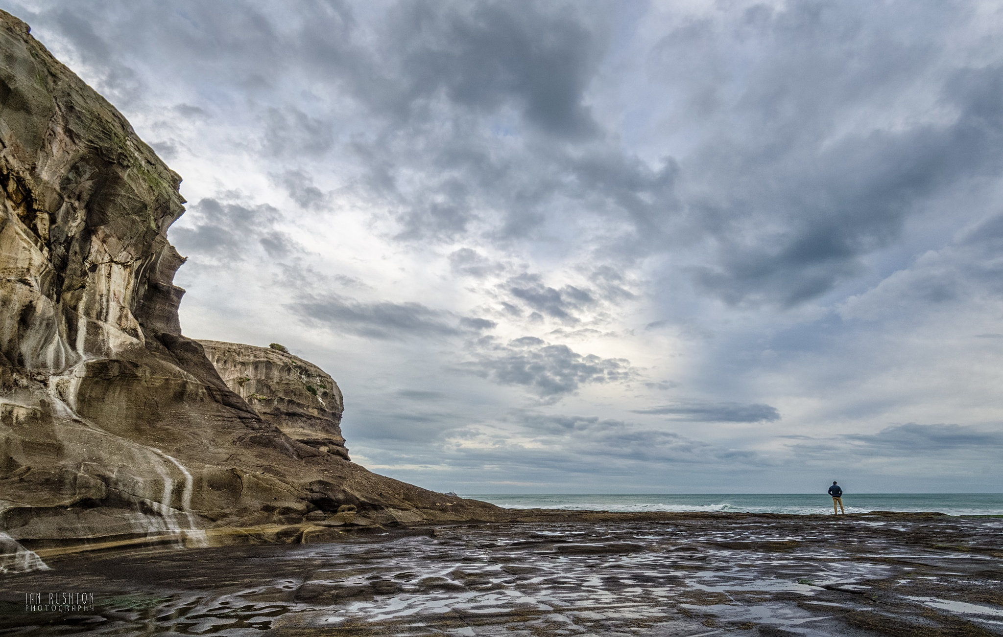 Muriwai Solitude (2) by Ian Rushton