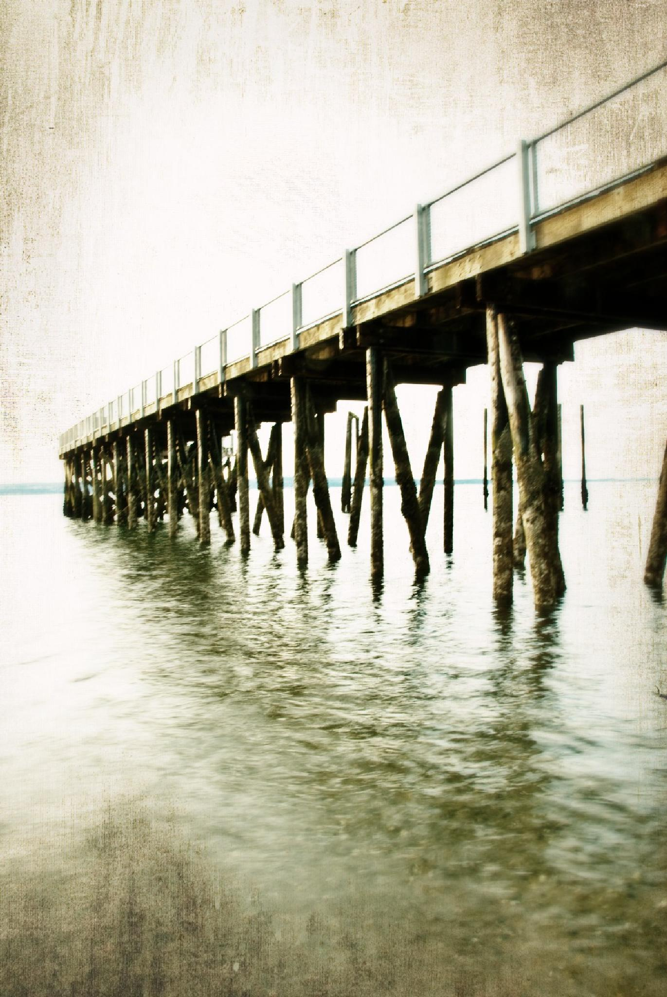 The Pier by Brenda Hartman