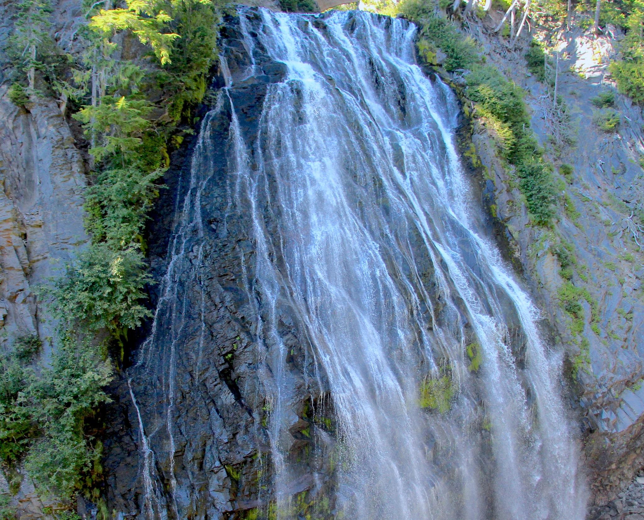 Close Up of Waterfall Seattle Washington by suzanne.kohr
