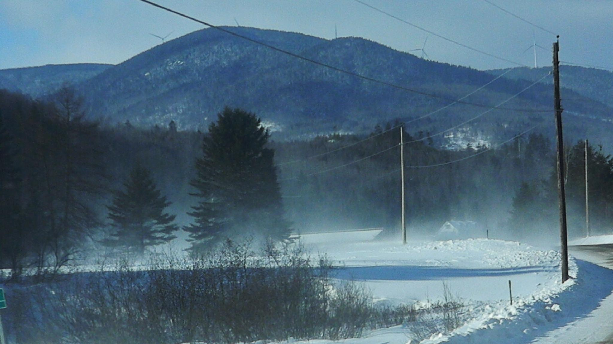 Nature's snow blowing by kbgarvey