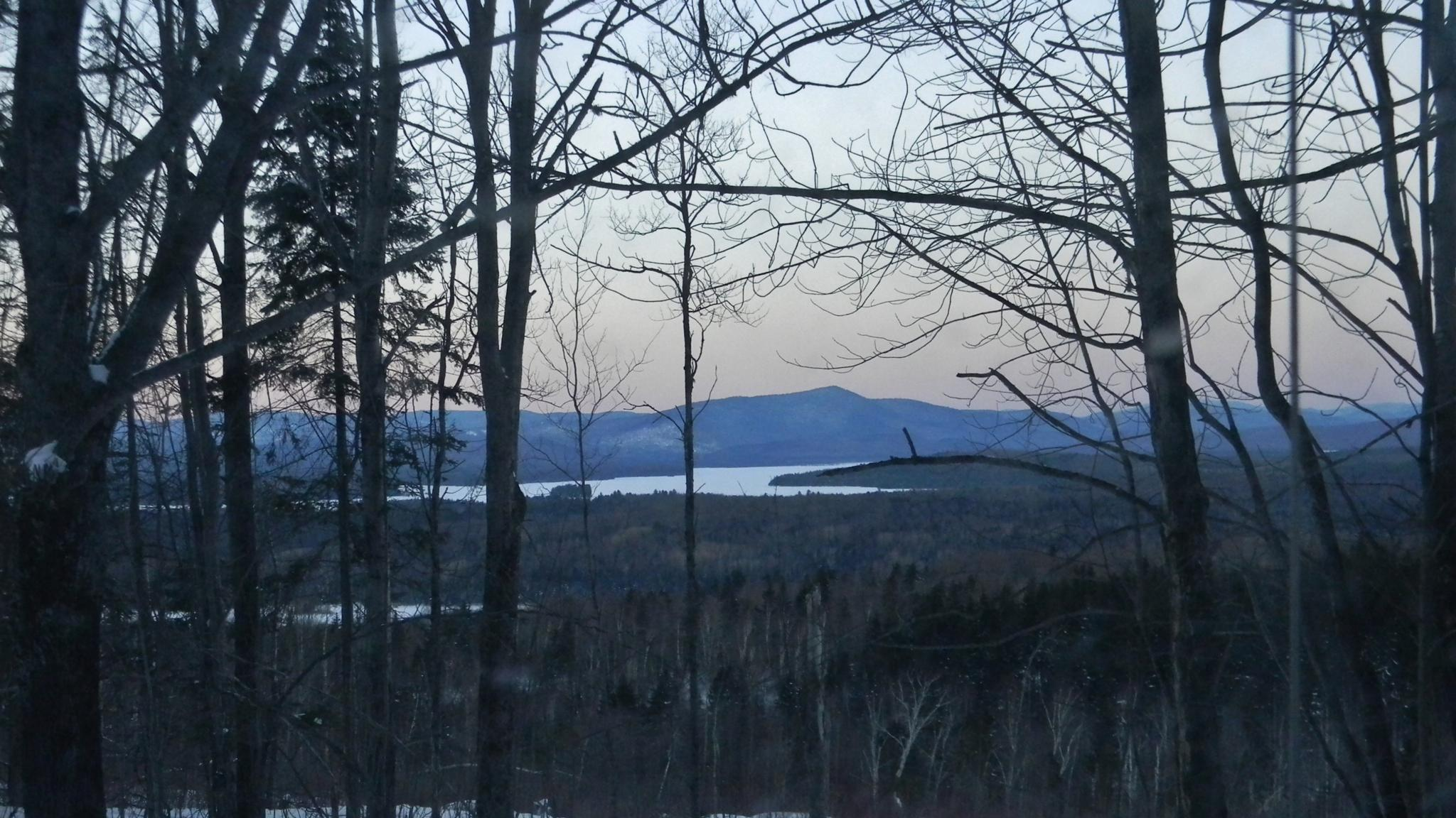 View of Mt. Dustan and Umbagog Lake from Upton, Maine by kbgarvey