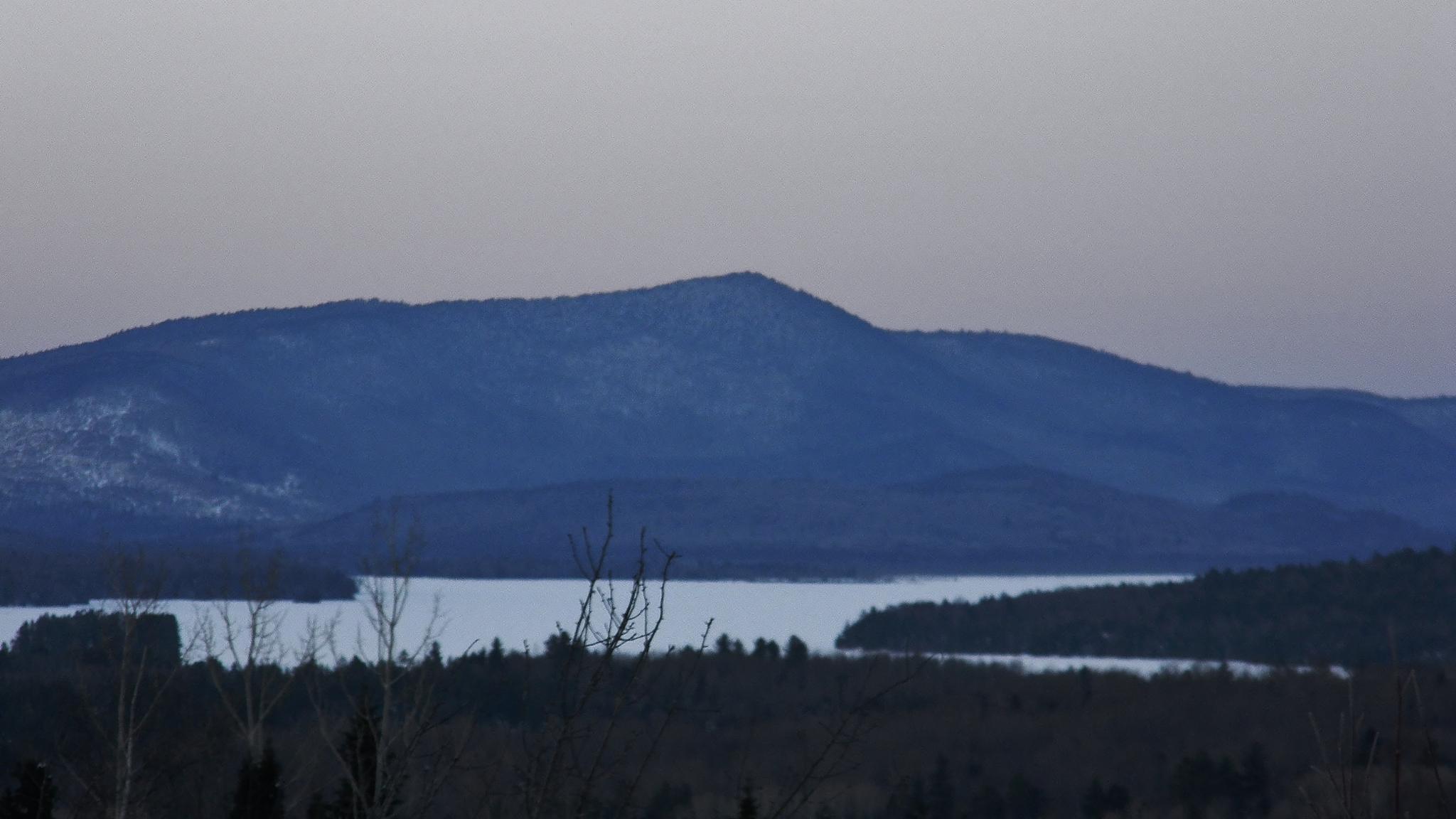 Mt. Dustan and Umbagog Lake by kbgarvey