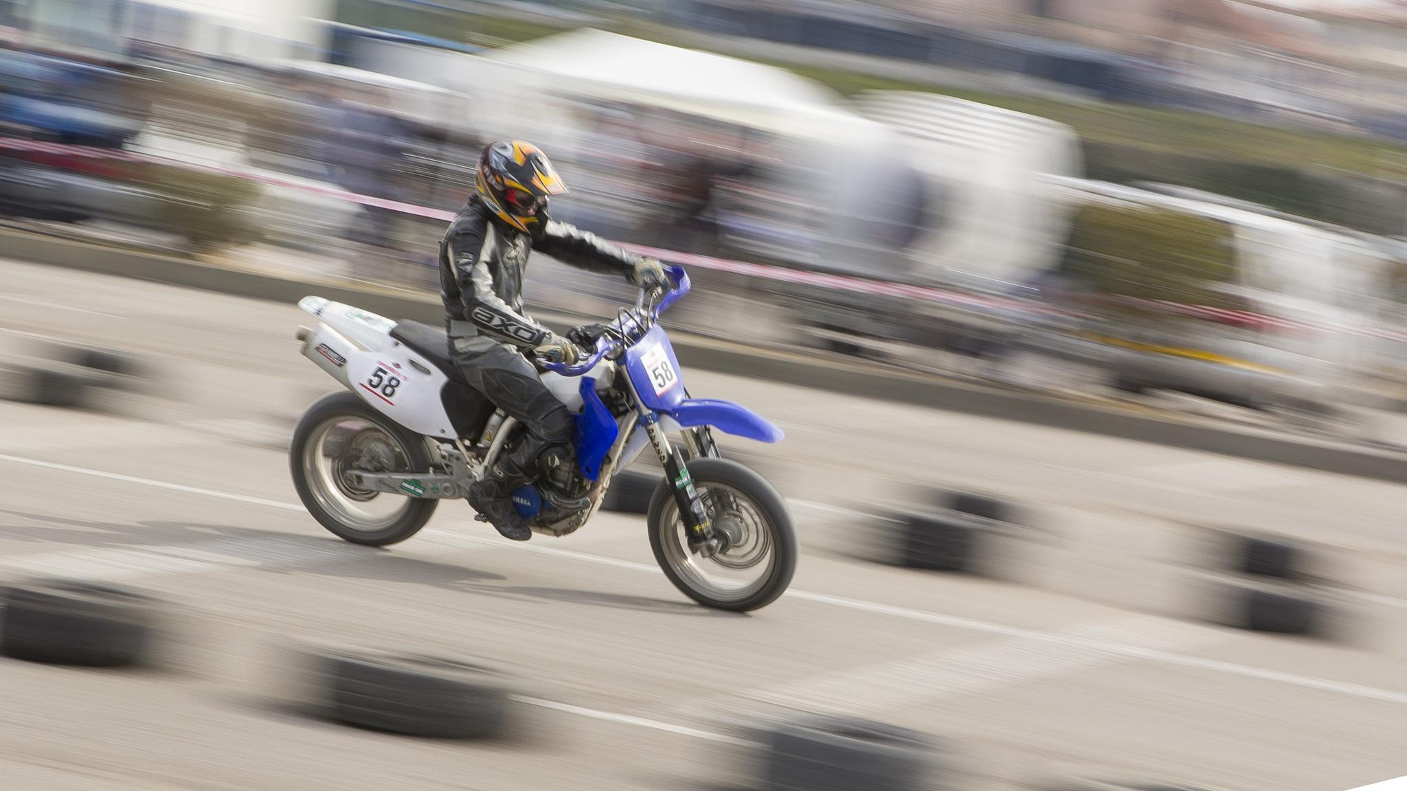 Motorbike Racer Guy by AniBarjami