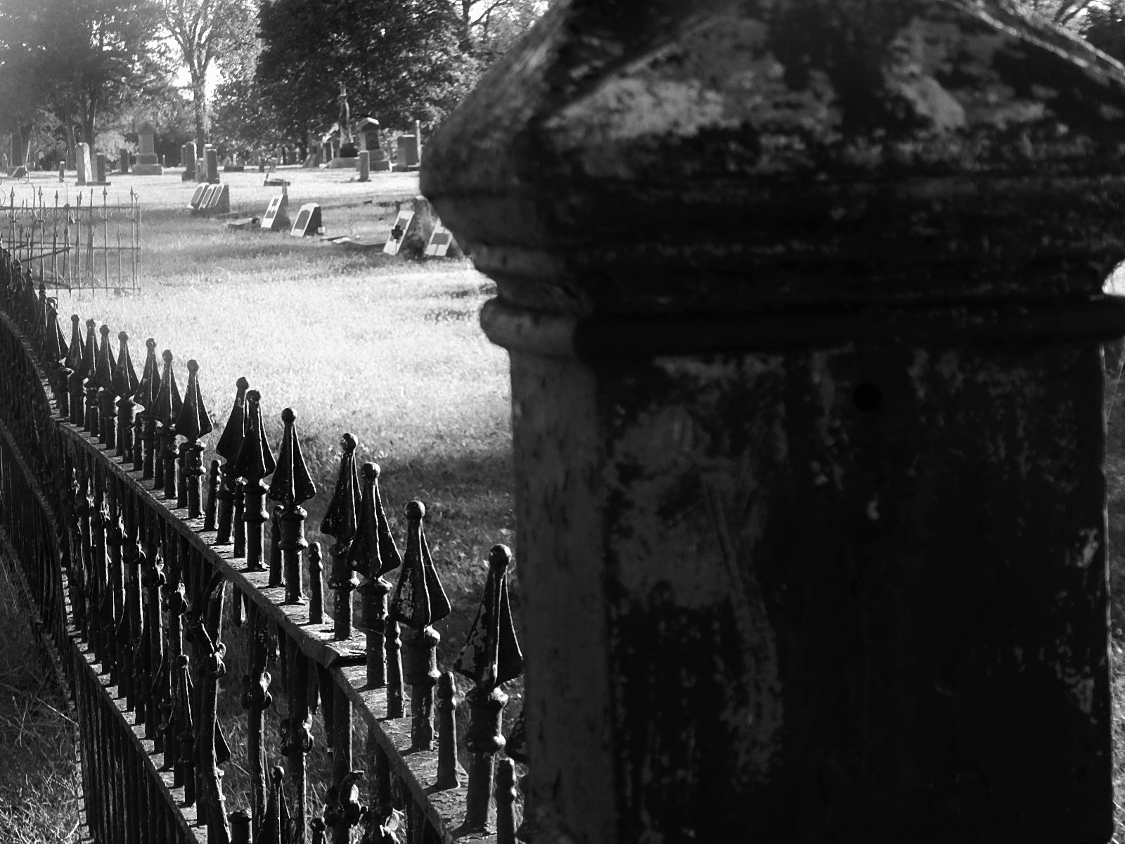Cemetery by Marsha Furman