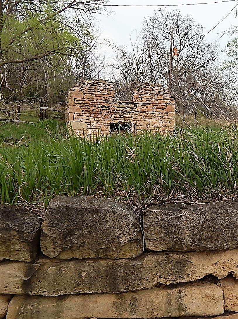 Old stne house by Marsha Furman