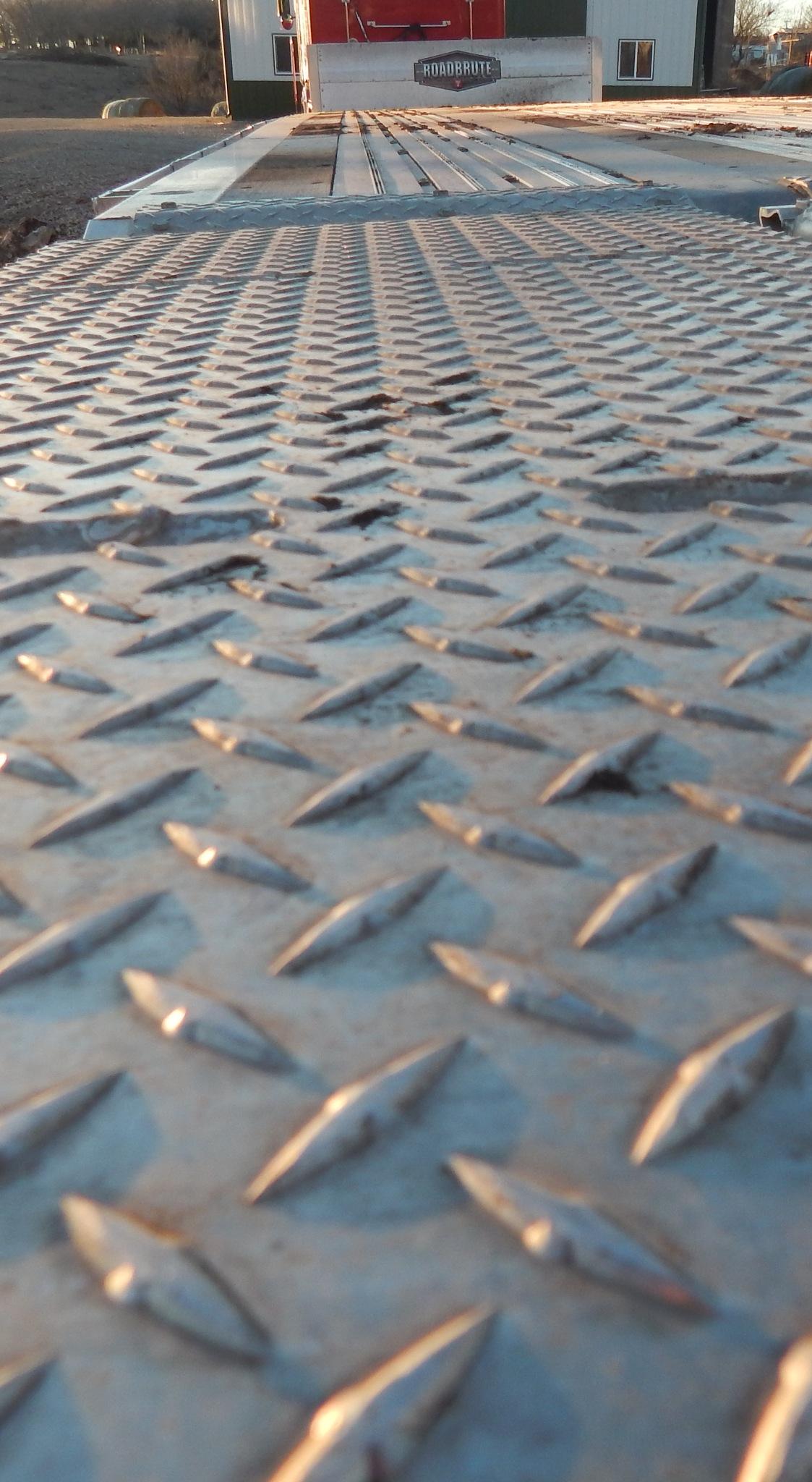 Flat trailor-semi by Marsha Furman
