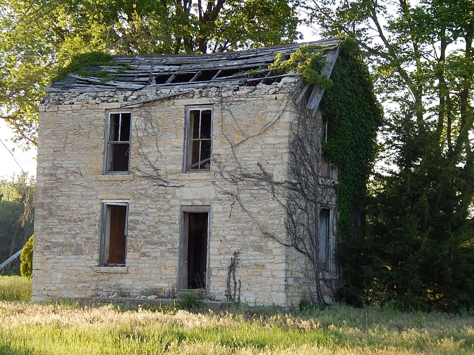 Old farmhouse by Marsha Furman