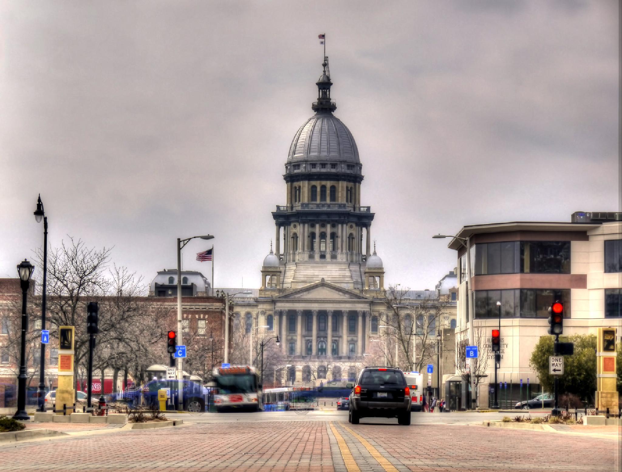 Springfield, IL Capital by AuntyLynn