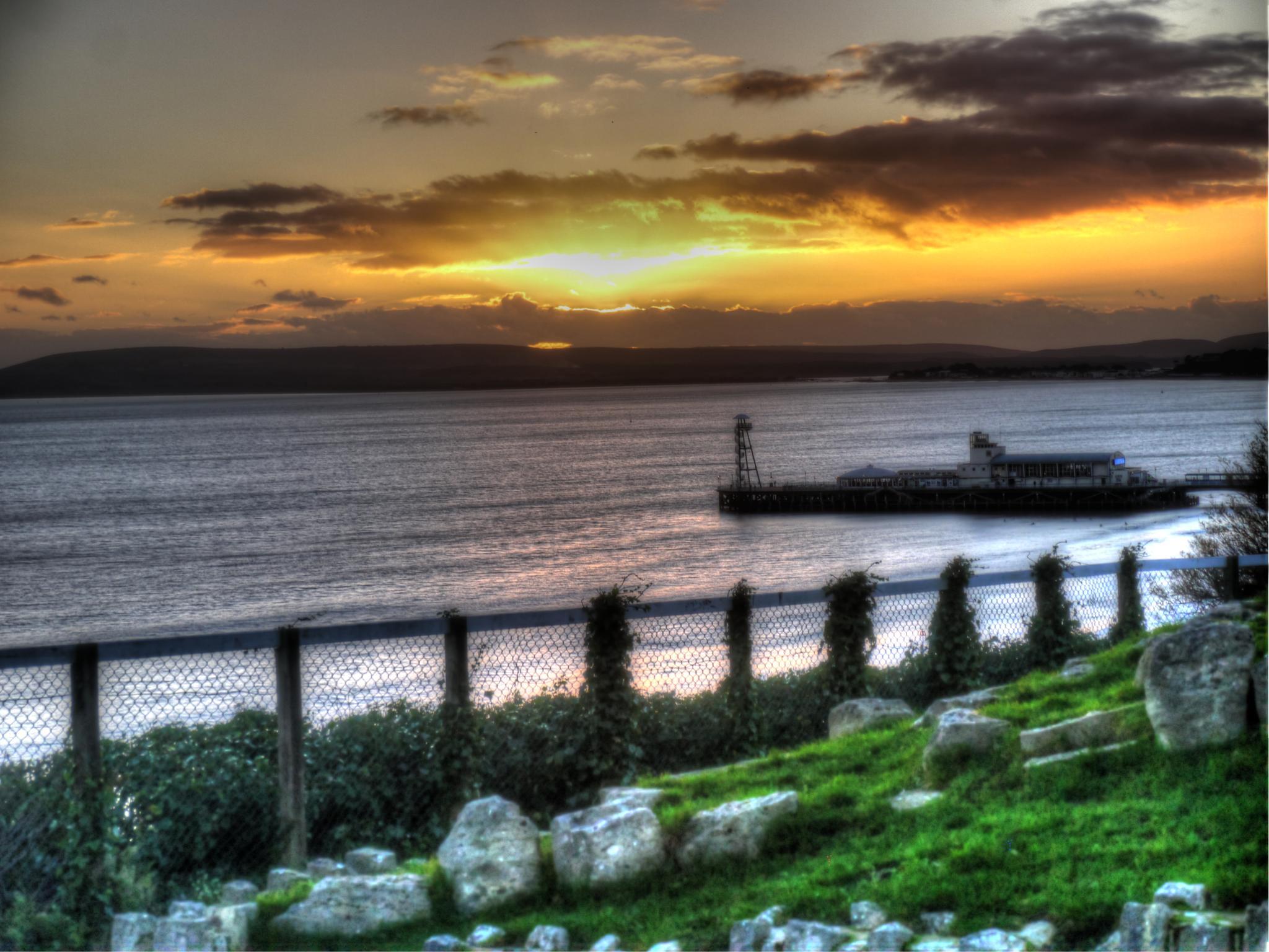 By the Sea Bournemouth, England by AuntyLynn