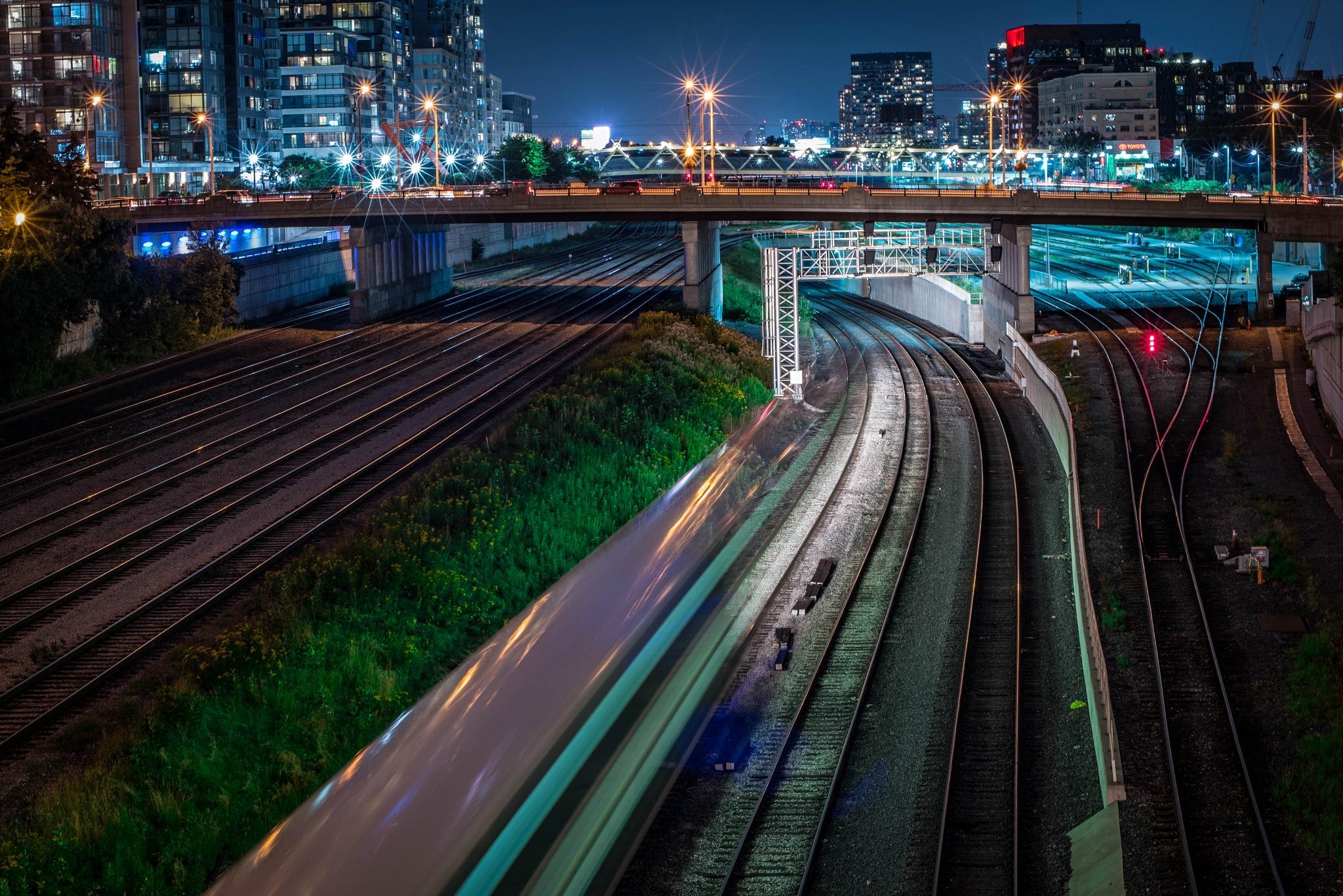 Toronto In-Motion by Kevin Drew Davis