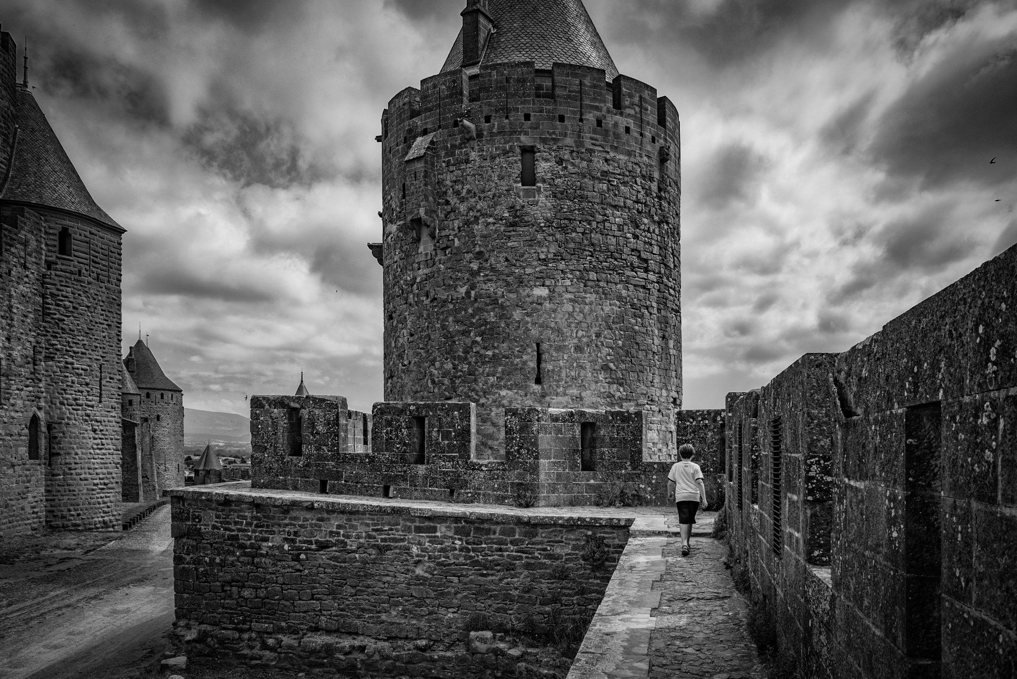 A Boy and His Castle by Kevin Drew Davis