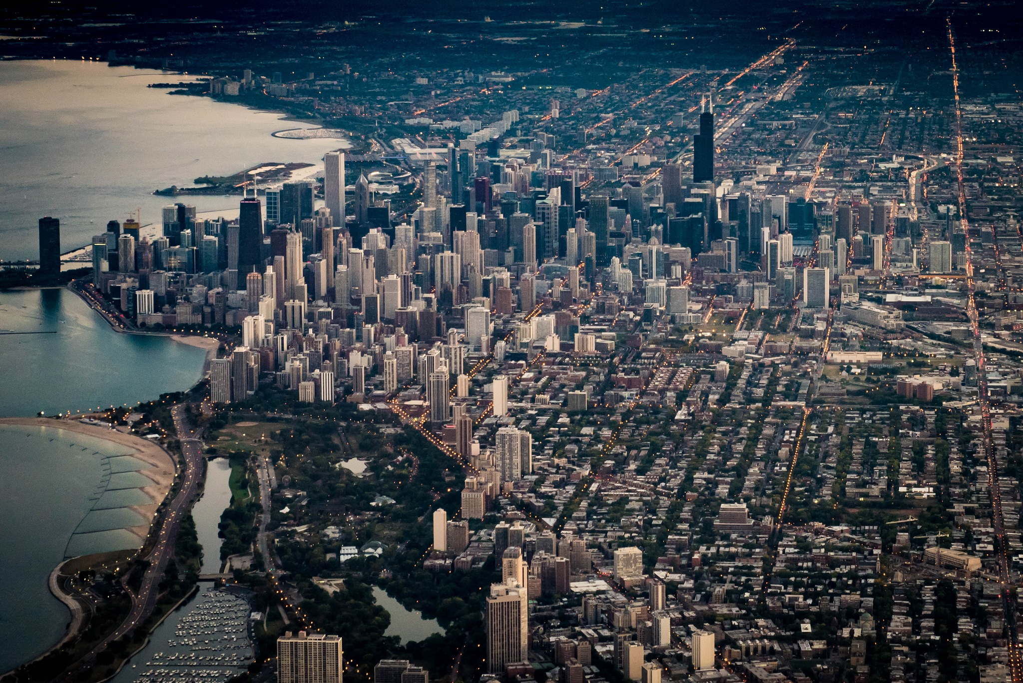 Chicago from the Air by Kevin Drew Davis