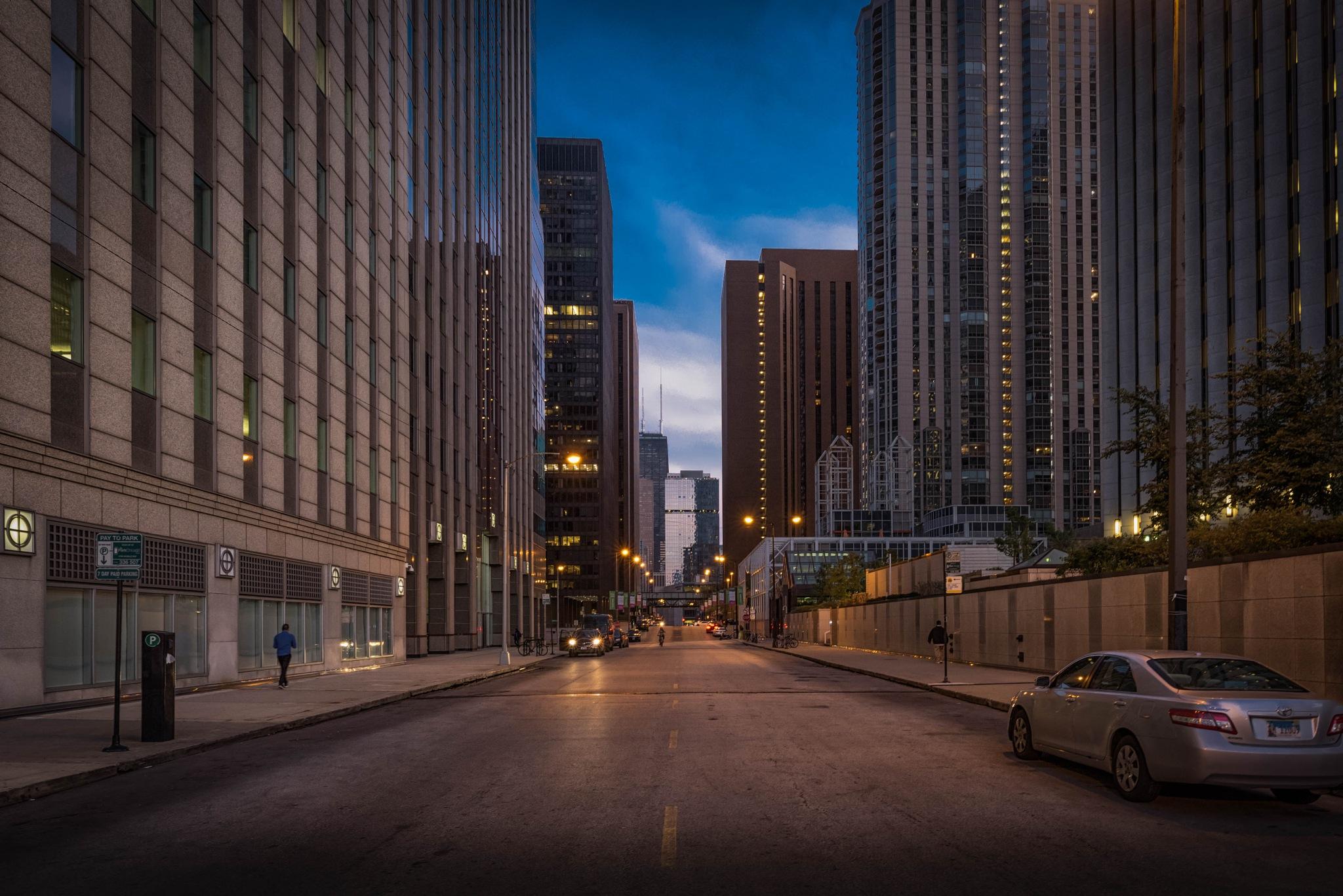 A City Waking Up by Kevin Drew Davis