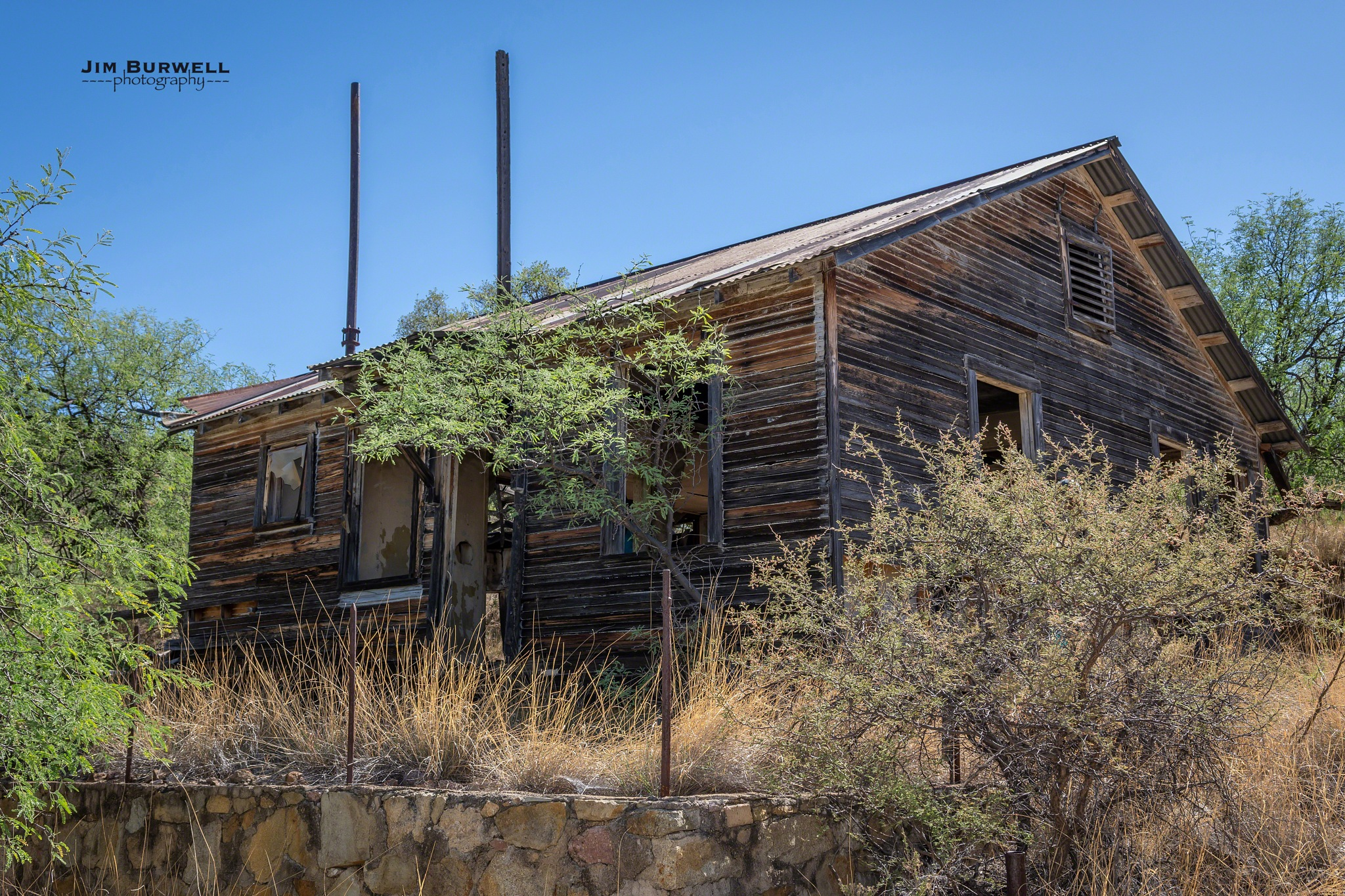 Arizona Ghost Town by Jim Burwell Photography