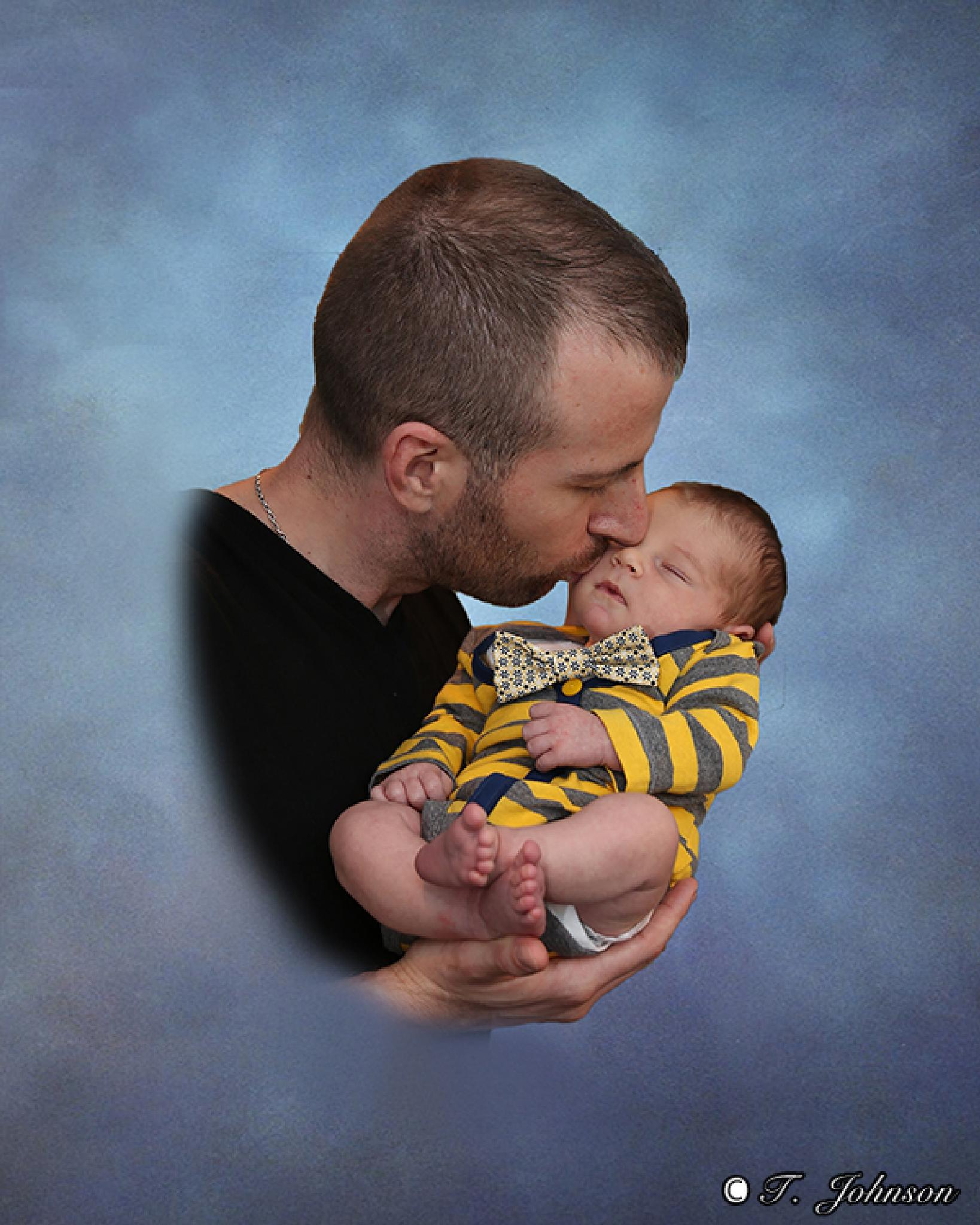 A Fathers Caress by TJ / A H Wolf Photography