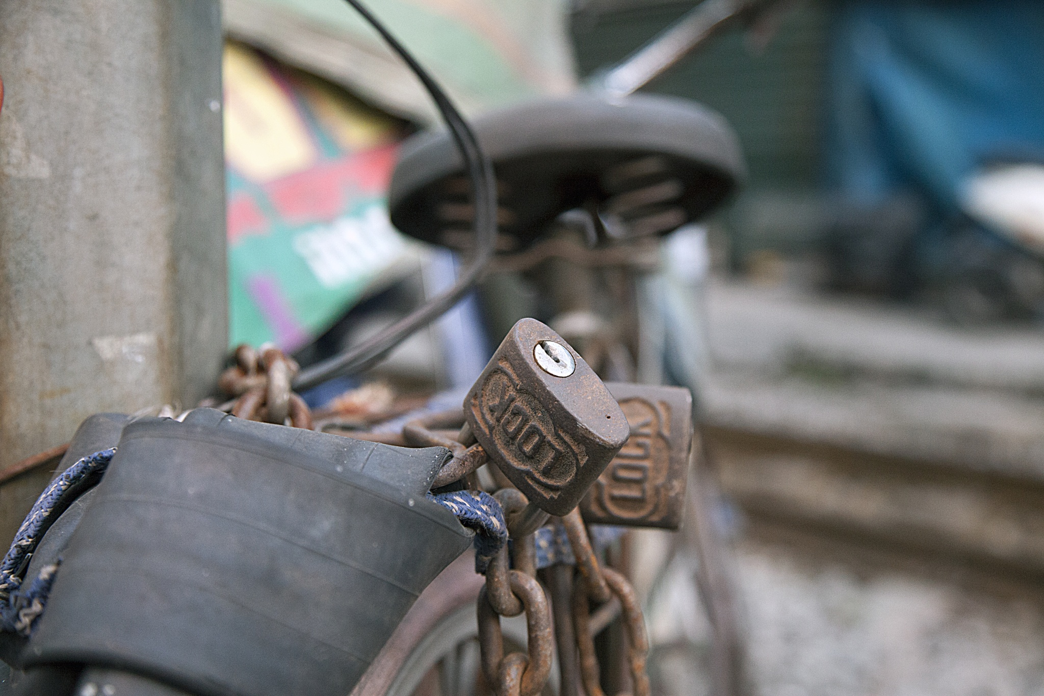 Old Bike in Hanoi, Vietnam by Anders Jonsson