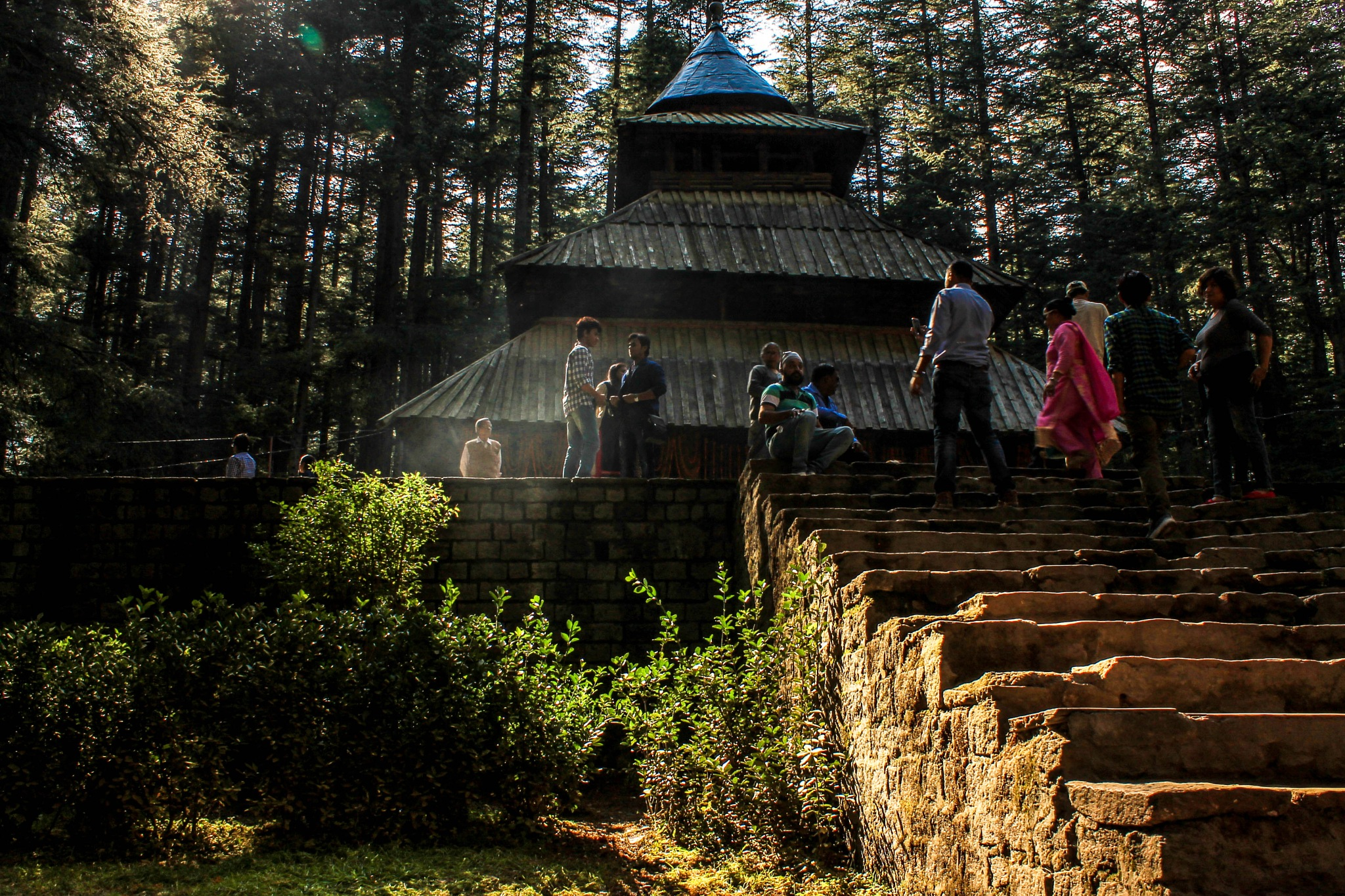 HIDIMBA temple in Manali by subhagatadey