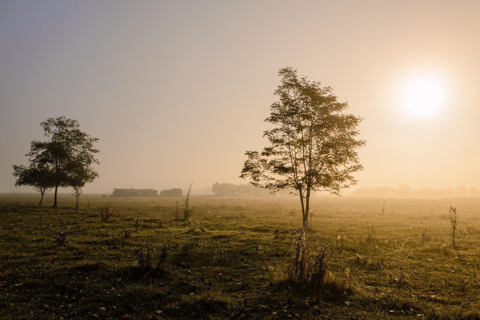 October sunrise... by Attila Farkas