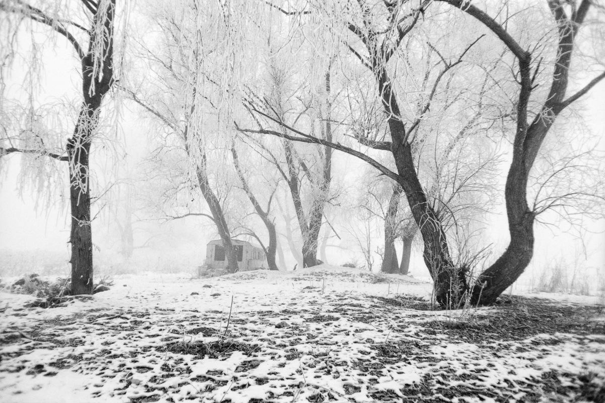 Winter at Seven Trees by Attila Farkas