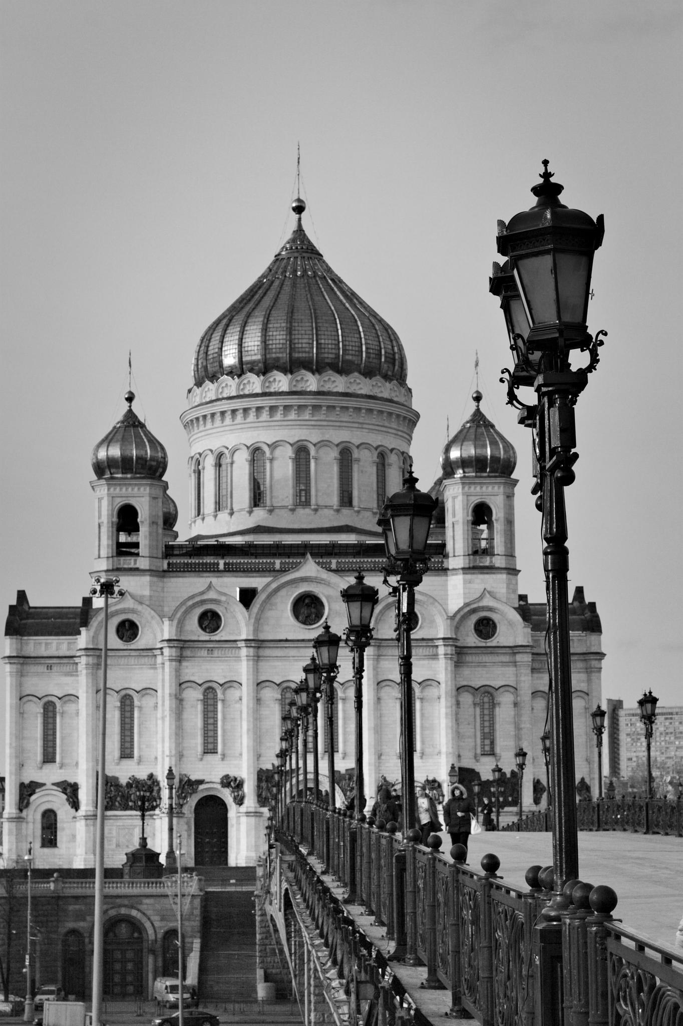 The heart of Moscow by Alex Zalesny