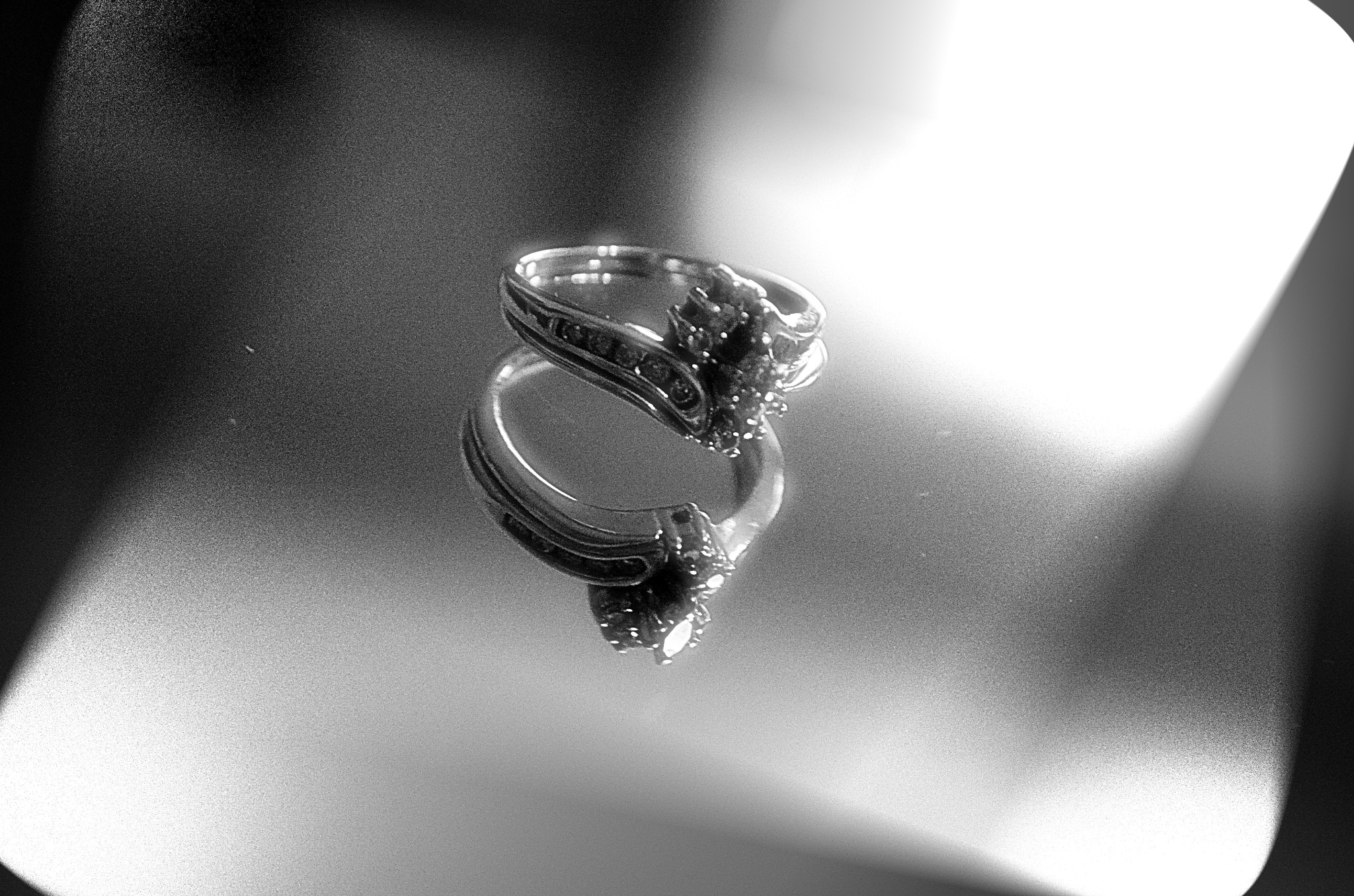 Wedding Ring Reflection by VBPhotography2013