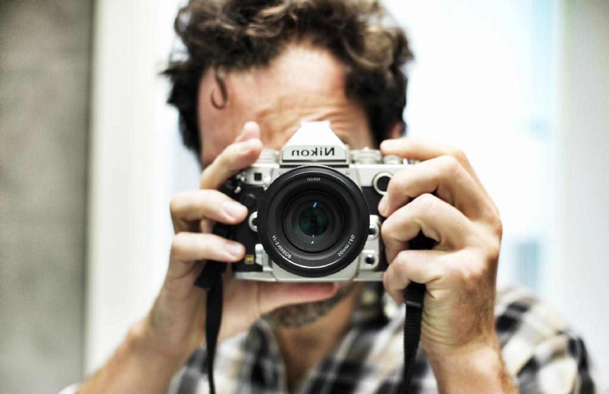 Self Portrait (with Nikon Df) by AlessioJacona