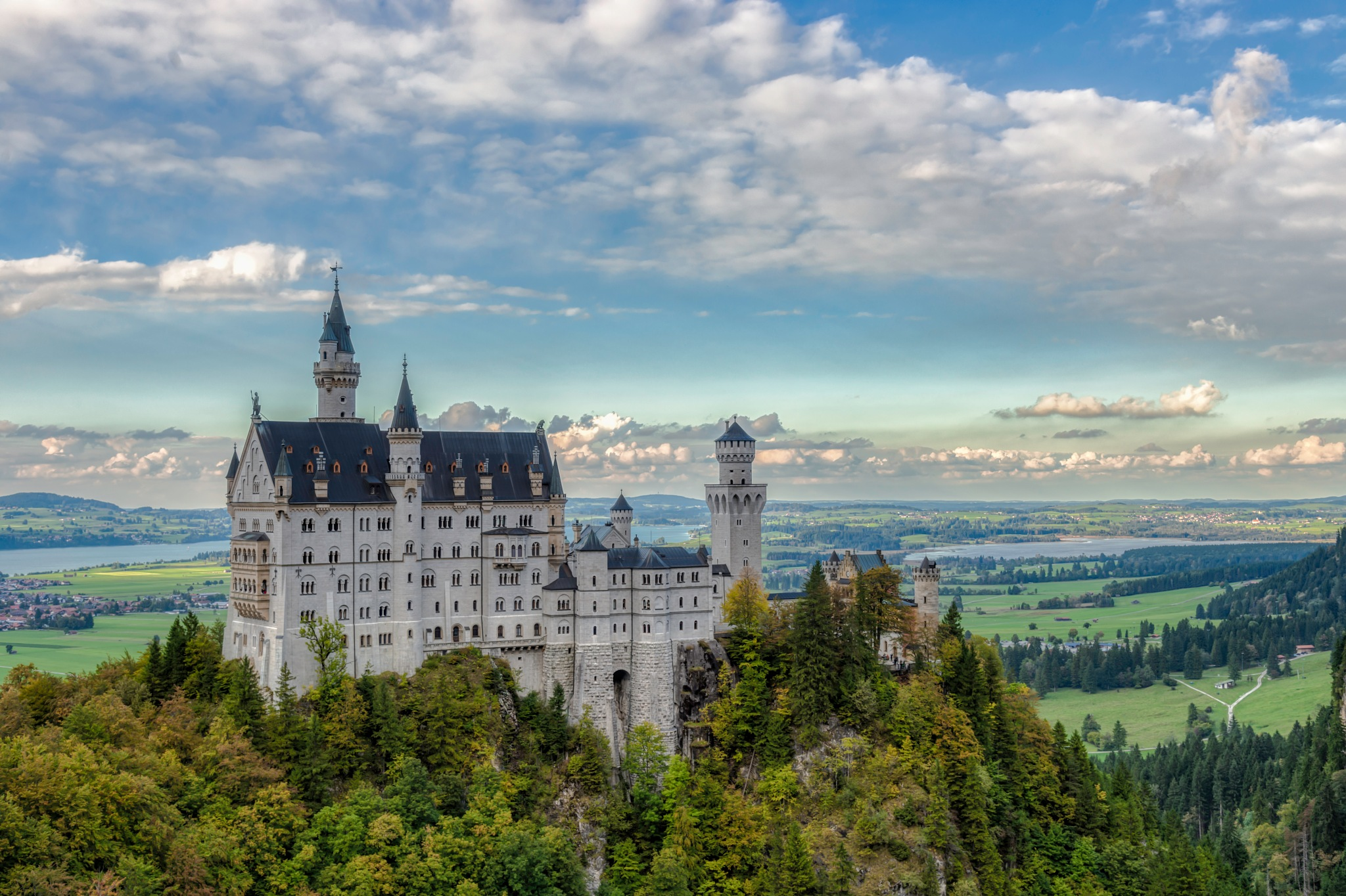 Neuschwanstein Castle by Jenware Photography