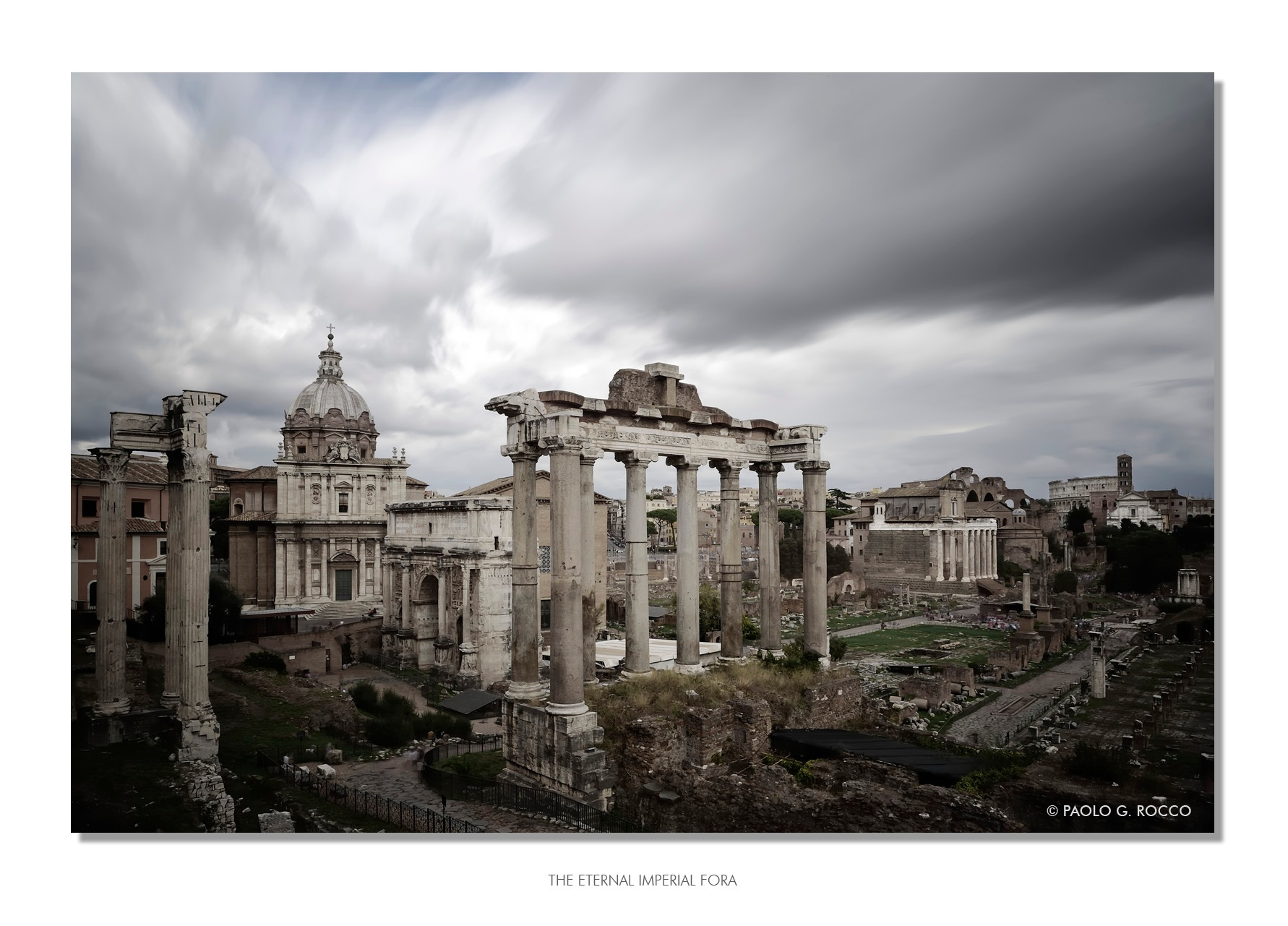 The Eternal Imperial Fora by paologaetano