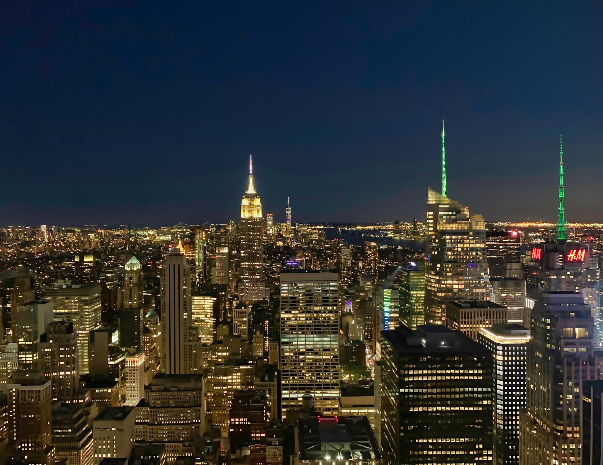 Manhattan by Hans Strömgren
