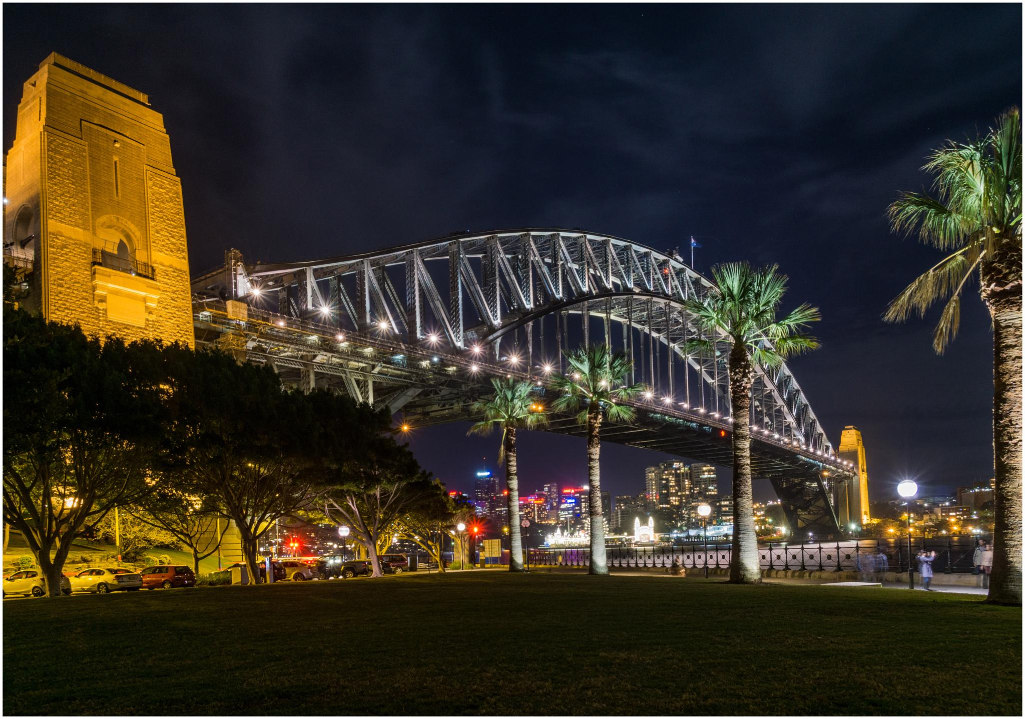Sydney Harbour Bridge by Erich Anderson