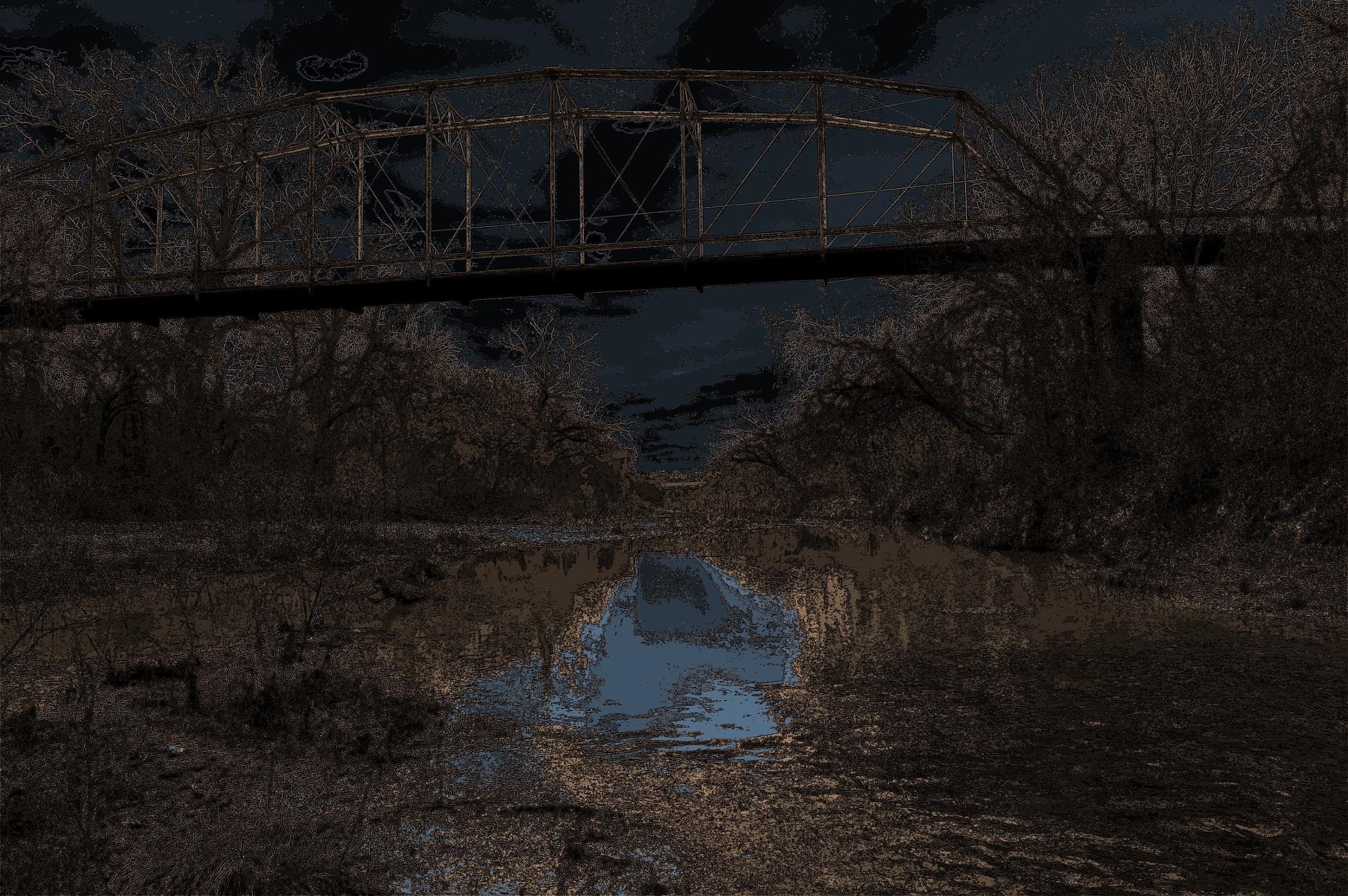 Night Bridge by benito.floresjr