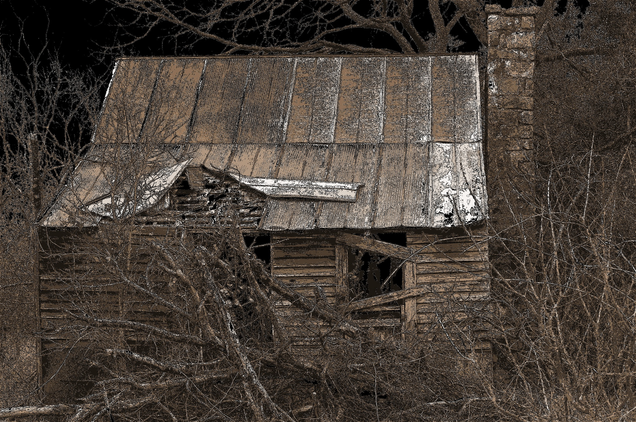 Old House Broken down by benito.floresjr