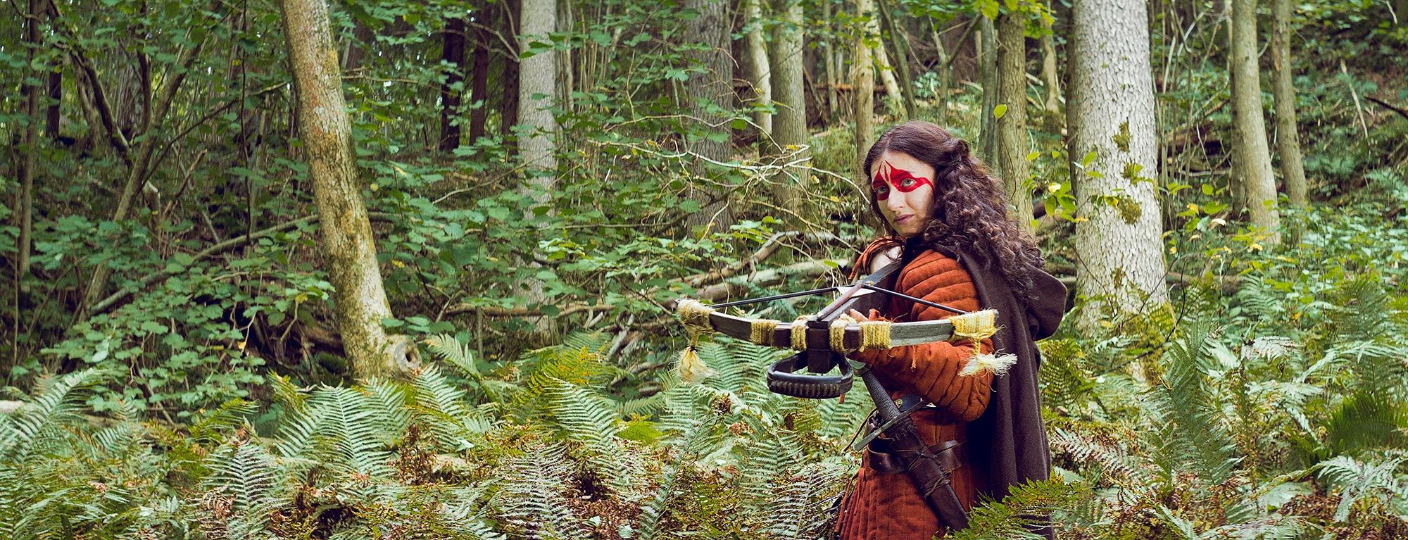 Medieval hunter. by David Nilsson