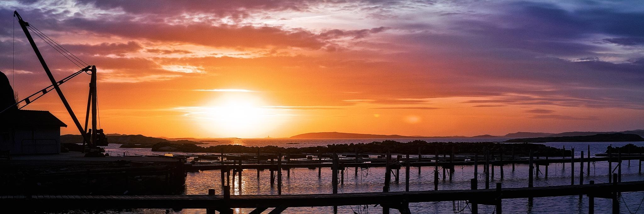 Archipelago sunset by David Eric Nilsson